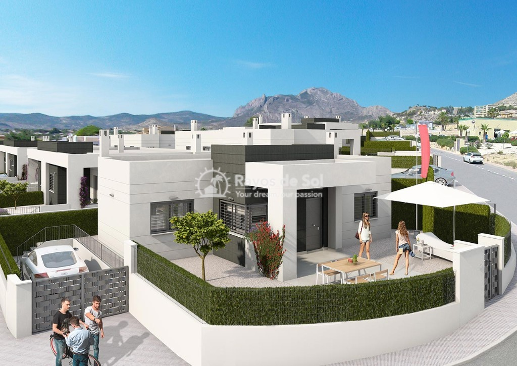 Villa  in Busot, Costa Blanca (altosalicante-2d) - 1