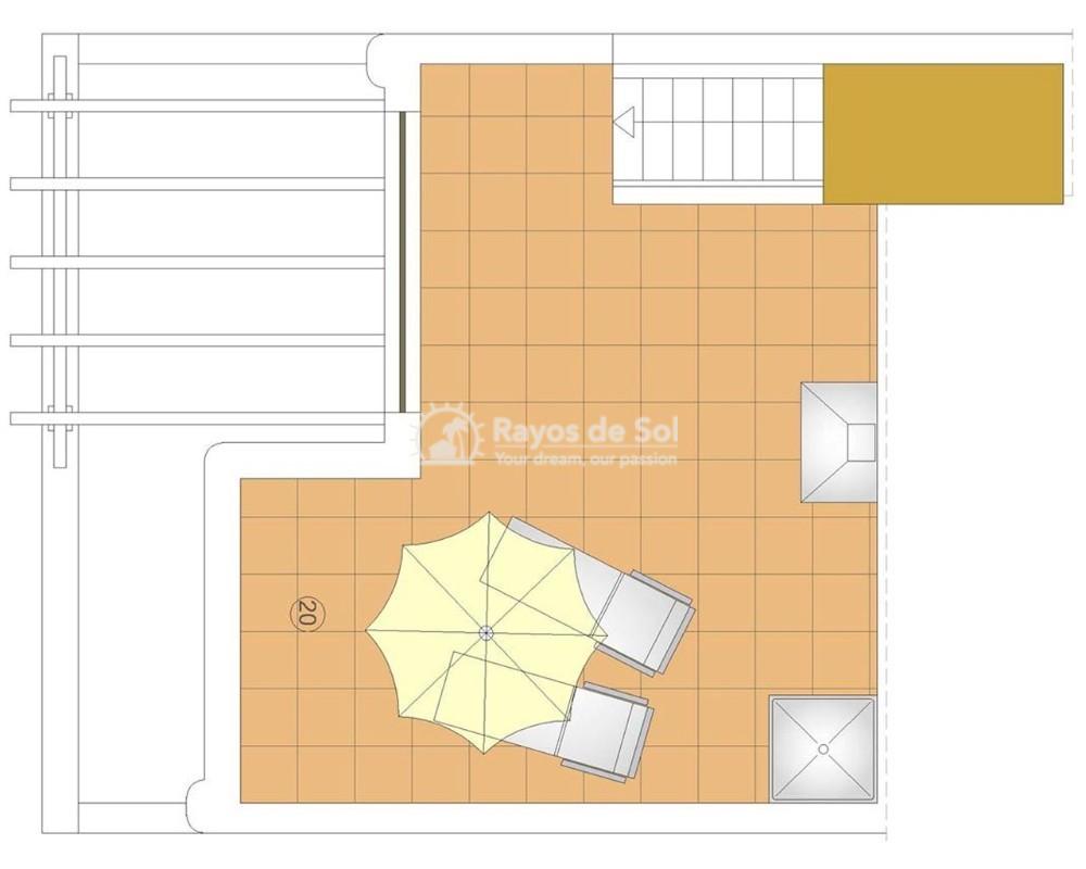 Apartment in San Juan Terreros, San Juan de los Terreros, Costa Almería (marpulpiap-ph-1d) - 14
