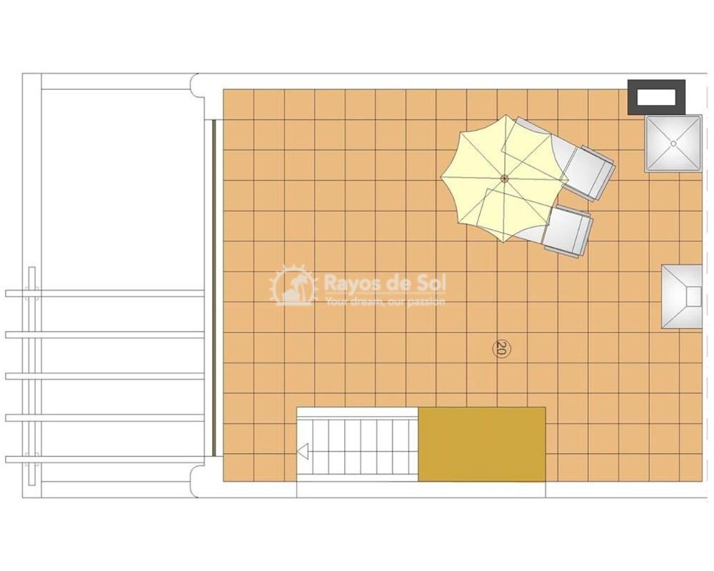 Apartment in San Juan Terreros, San Juan de los Terreros, Costa Almería (marpulpiap-ph-2d) - 13