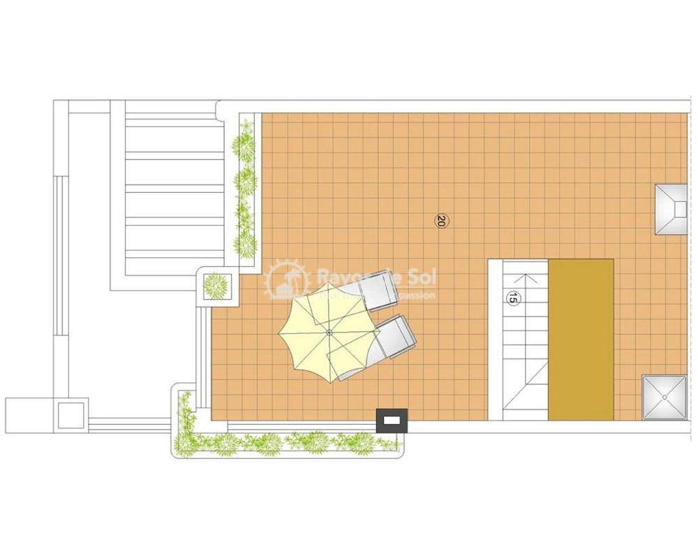 Ground Floor Apartment in San Juan Terreros, San Juan de los Terreros, Costa Almería (marpulpi6-tf-2d) - 8
