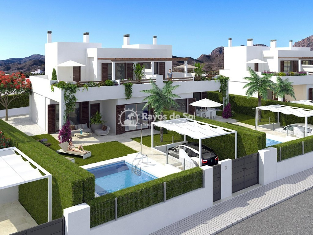 Villa  in San Juan de los Terreros, Costa Almería (villaspulpi-3d) - 3