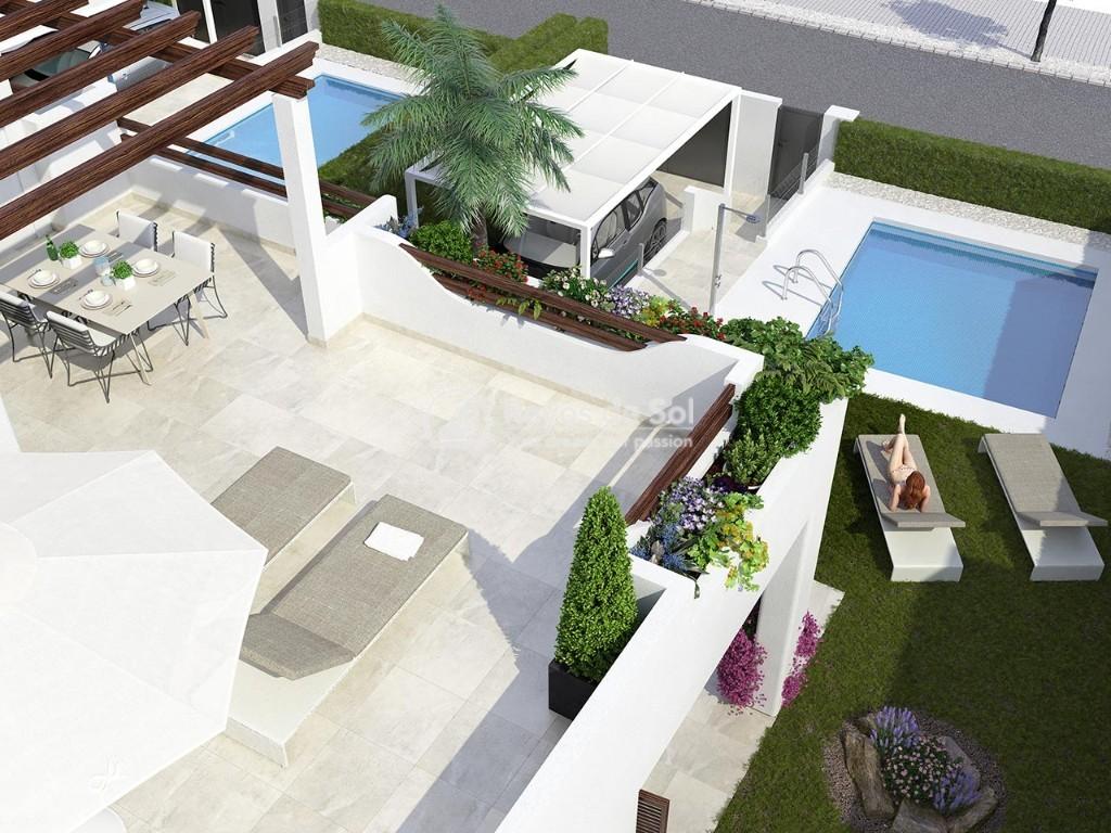 Villa  in San Juan de los Terreros, Costa Almería (villaspulpi-3d) - 8