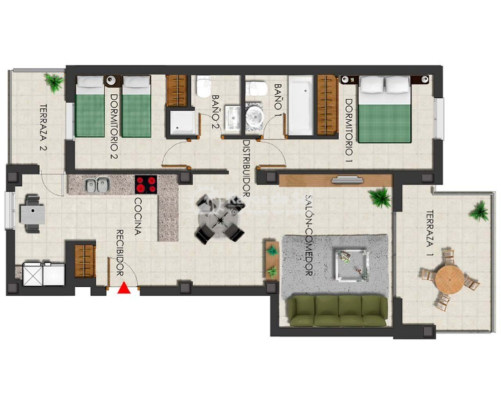 Penthouse  in Polop, Costa Blanca (dbenitopolop-tf2d) - 14