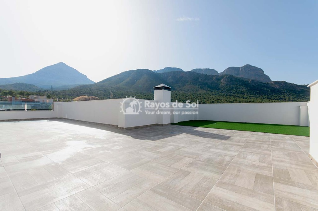 Penthouse  in Polop, Costa Blanca (dbenitopolop-tf-3d) - 29