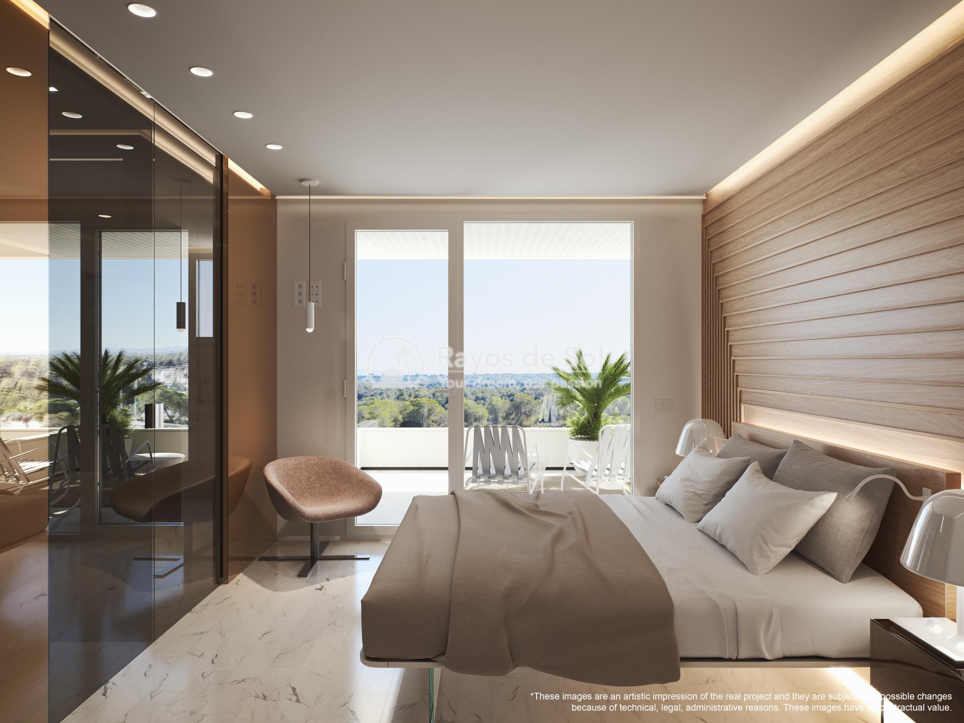 Apartment  in Las Colinas, Orihuela Costa, Costa Blanca (madronoap-3d) - 15