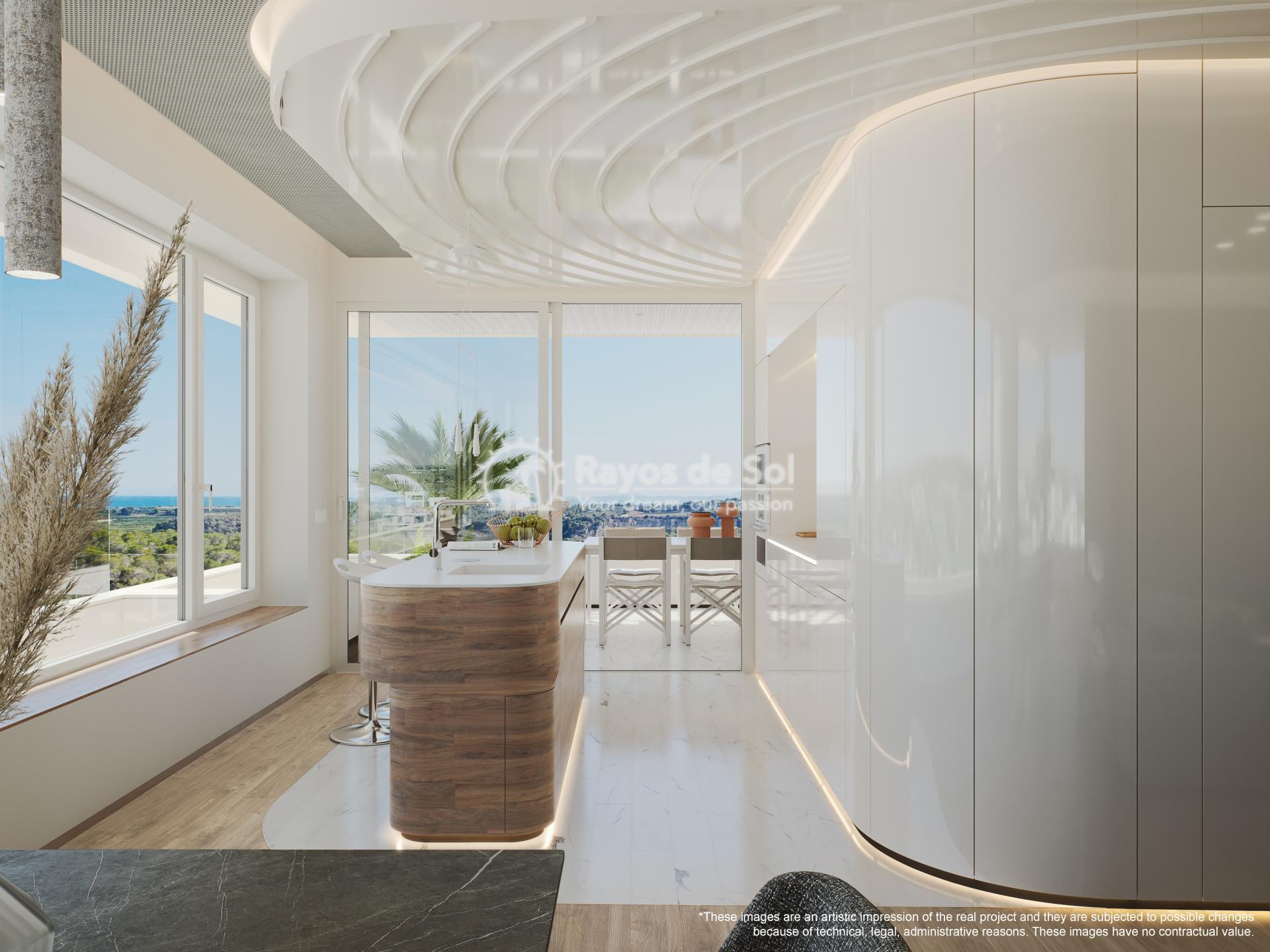 Apartment  in Las Colinas, Orihuela Costa, Costa Blanca (madronoap-3d) - 4