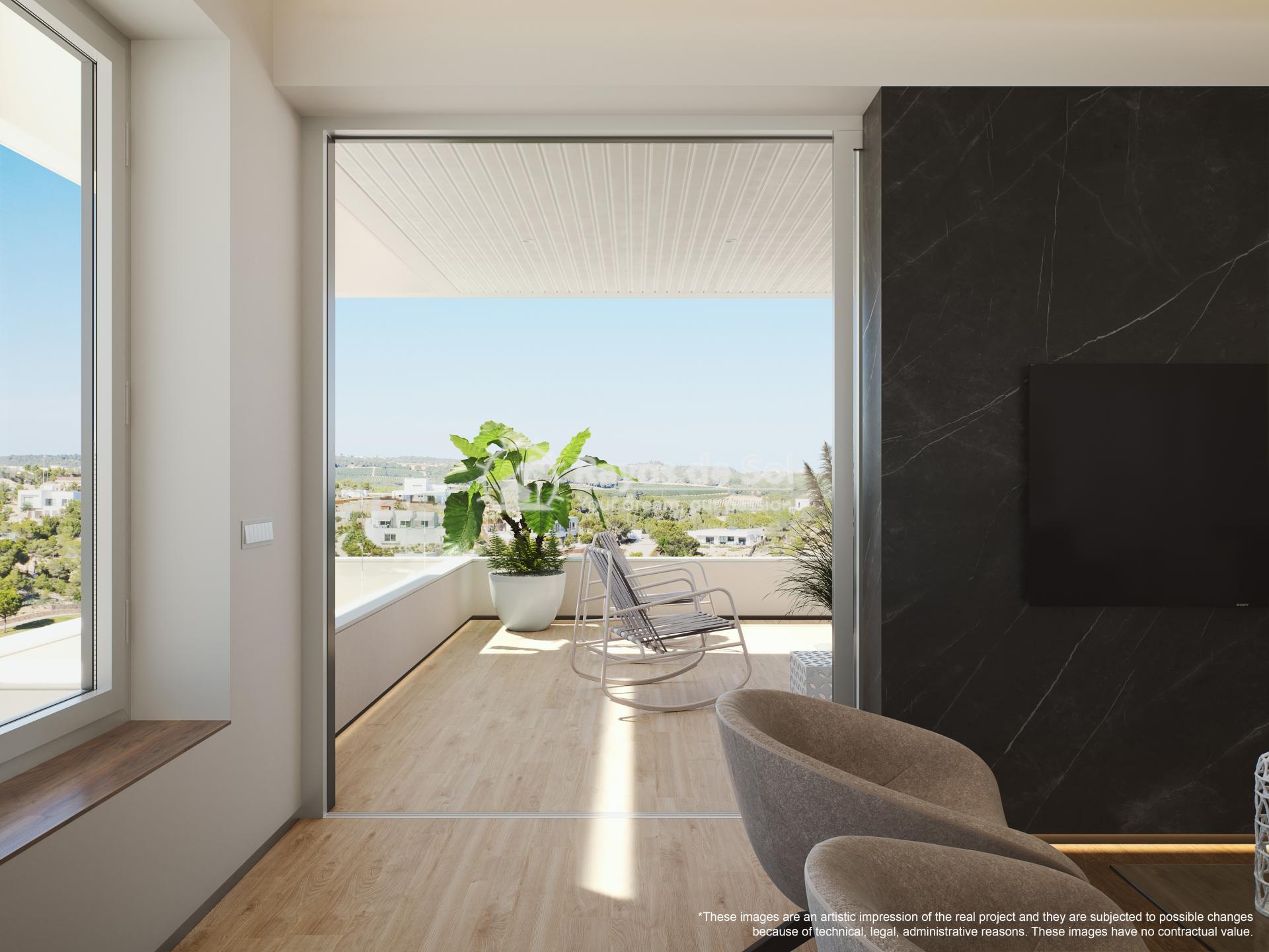 Apartment  in Las Colinas, Orihuela Costa, Costa Blanca (madronoap-3d) - 6