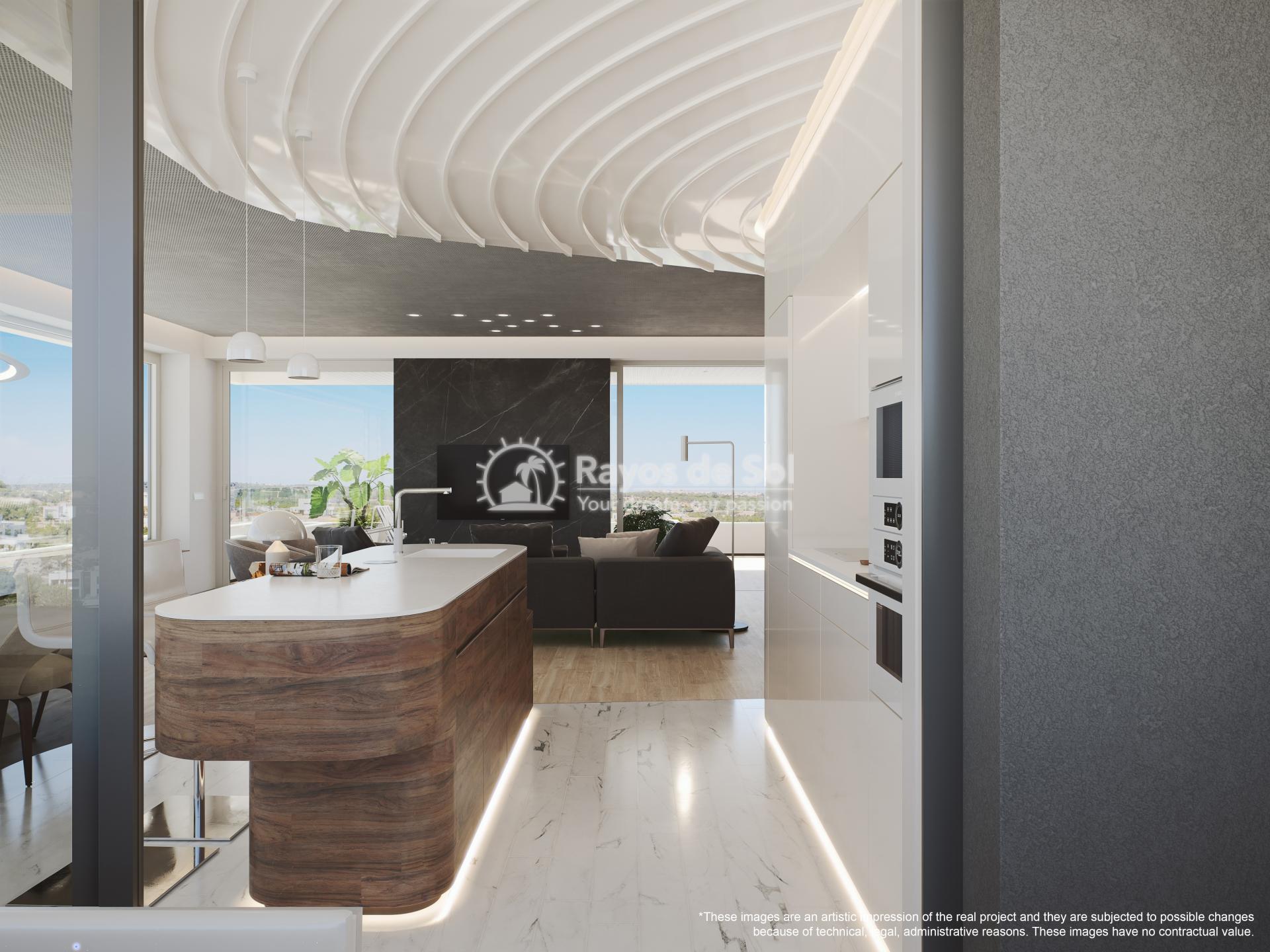 Apartment  in Las Colinas, Orihuela Costa, Costa Blanca (madronoap-3d) - 7