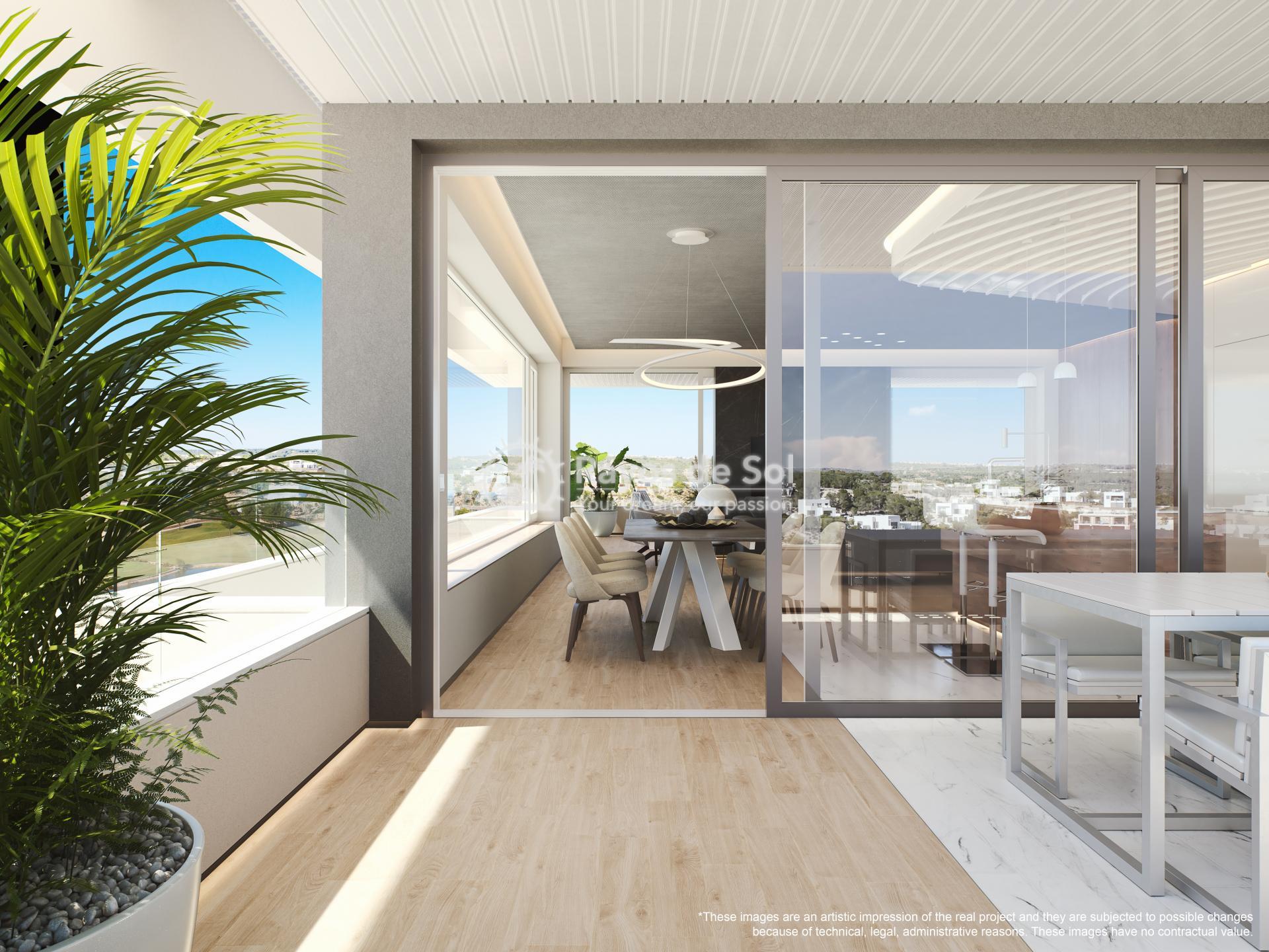 Apartment  in Las Colinas, Orihuela Costa, Costa Blanca (madronoap-3d) - 13