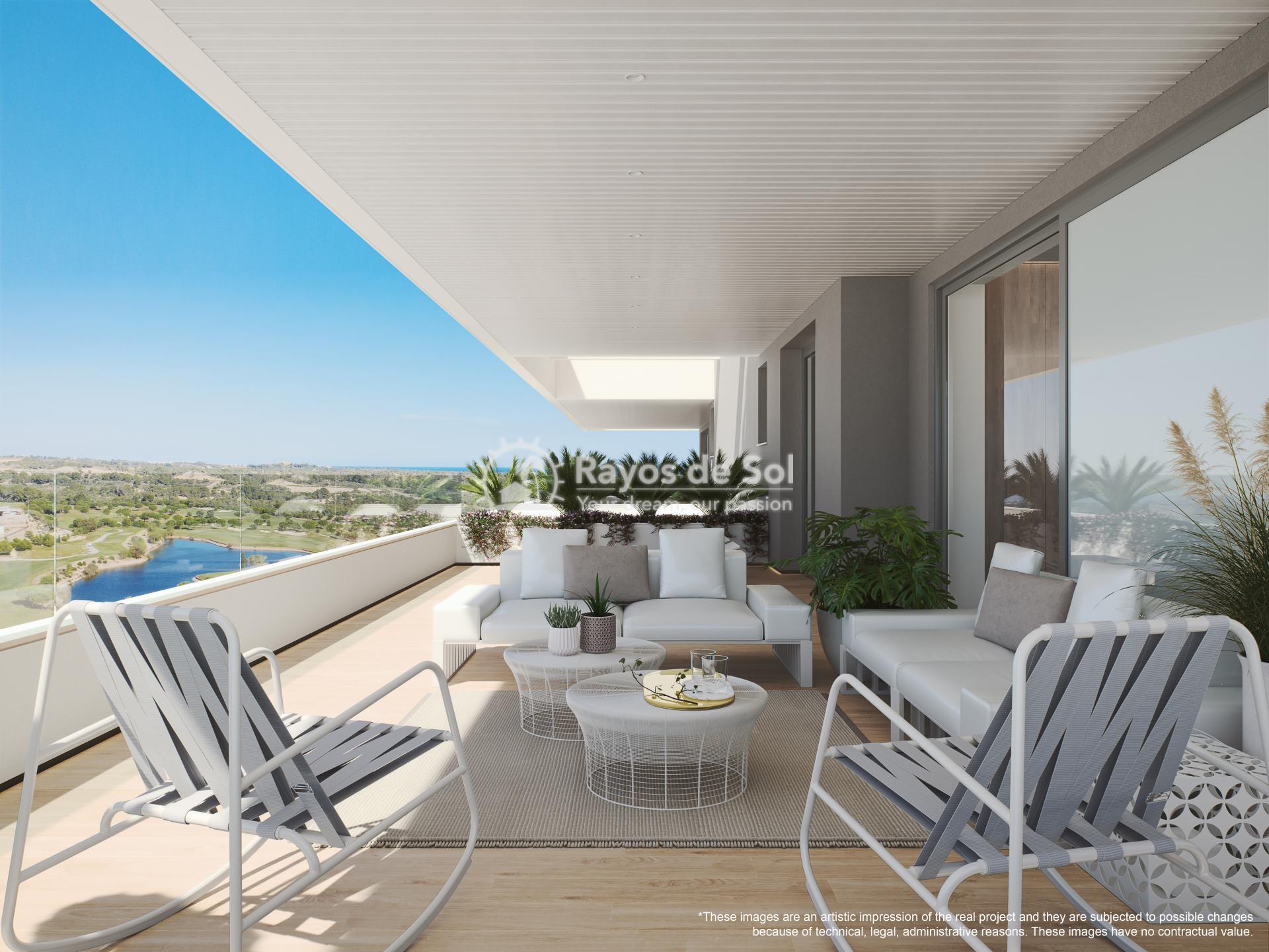 Apartment  in Las Colinas, Orihuela Costa, Costa Blanca (madronoap-3d) - 14
