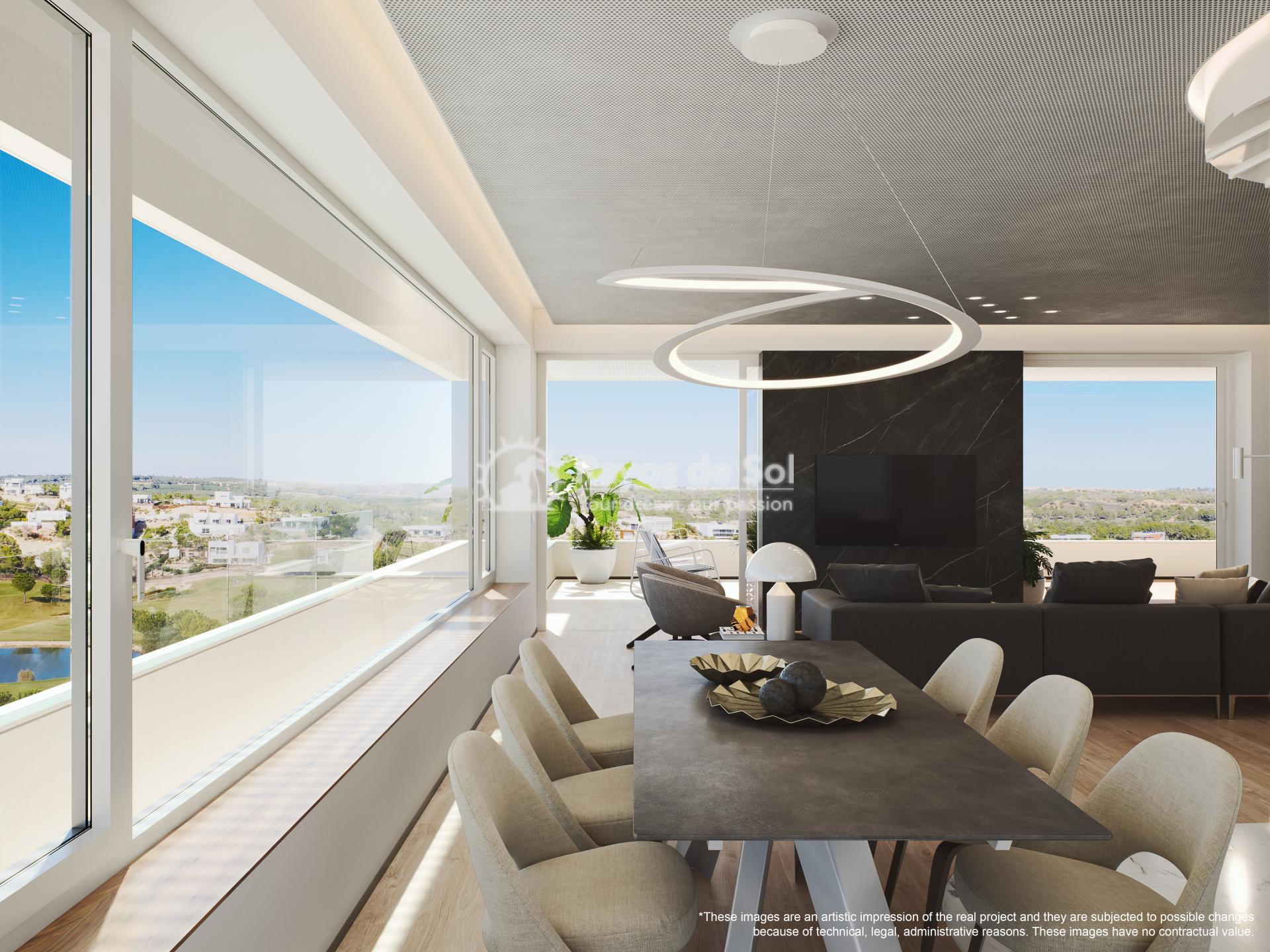 Apartment  in Las Colinas, Orihuela Costa, Costa Blanca (madronoap-3d) - 24
