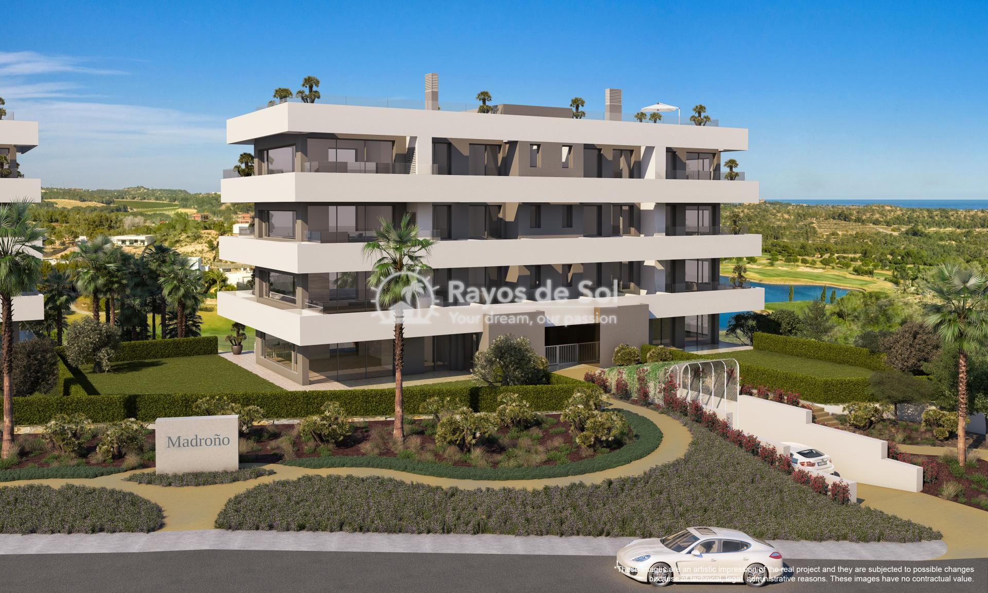 Apartment  in Las Colinas, Orihuela Costa, Costa Blanca (madronoap-3d) - 1