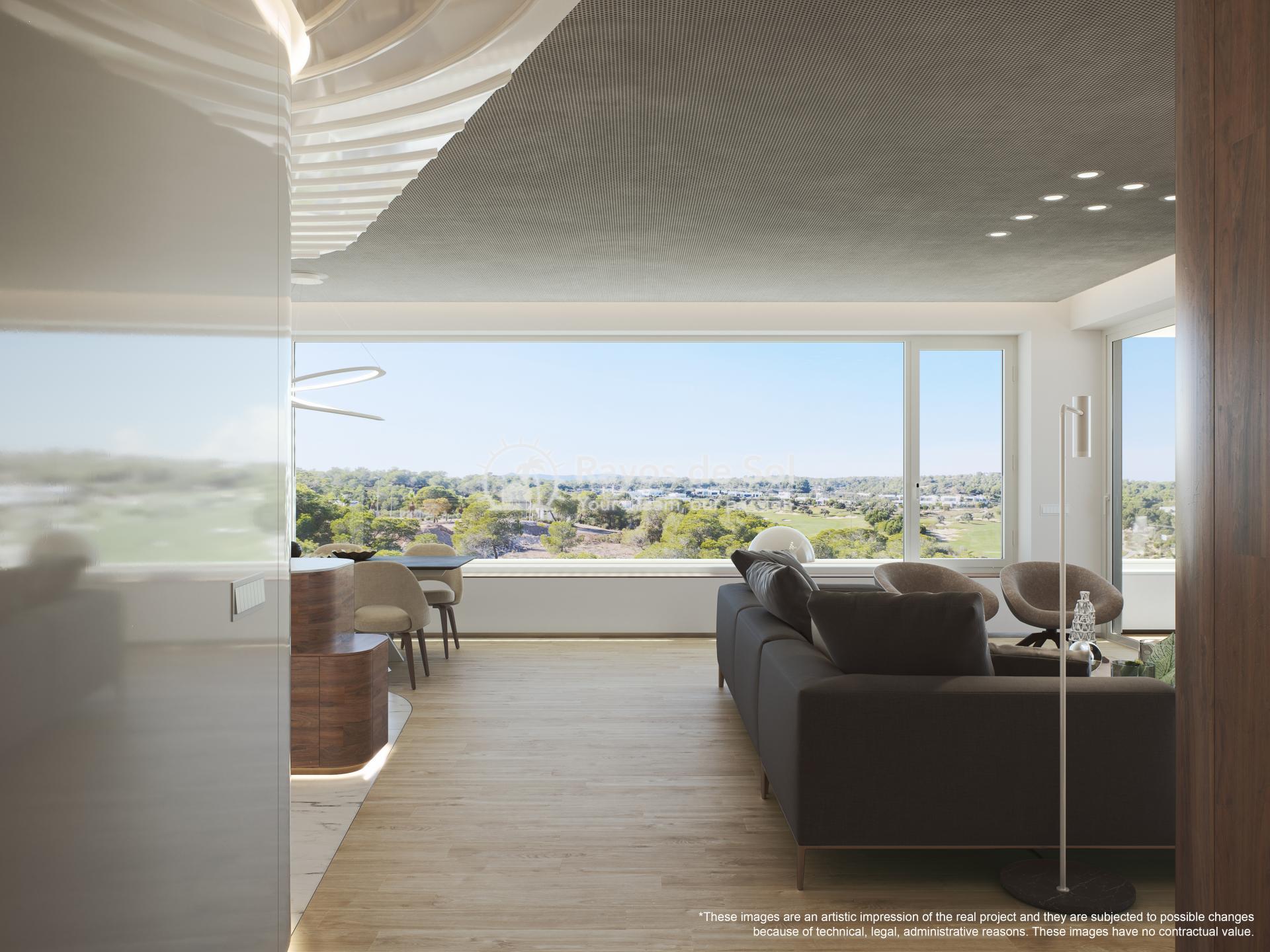Apartment  in Las Colinas, Orihuela Costa, Costa Blanca (madronoap-gf-3d) - 3