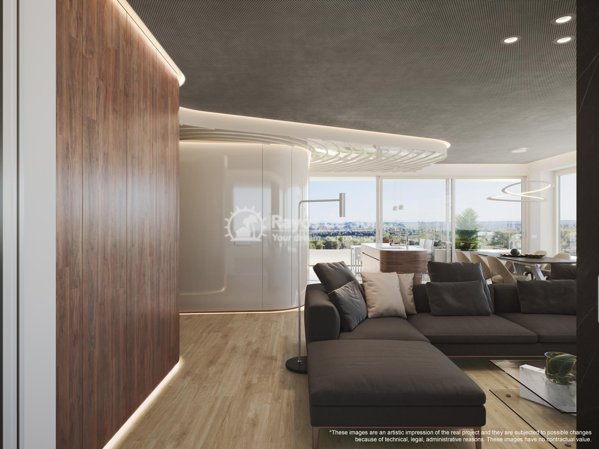 Apartment  in Las Colinas, Orihuela Costa, Costa Blanca (madronoap-gf-3d) - 5