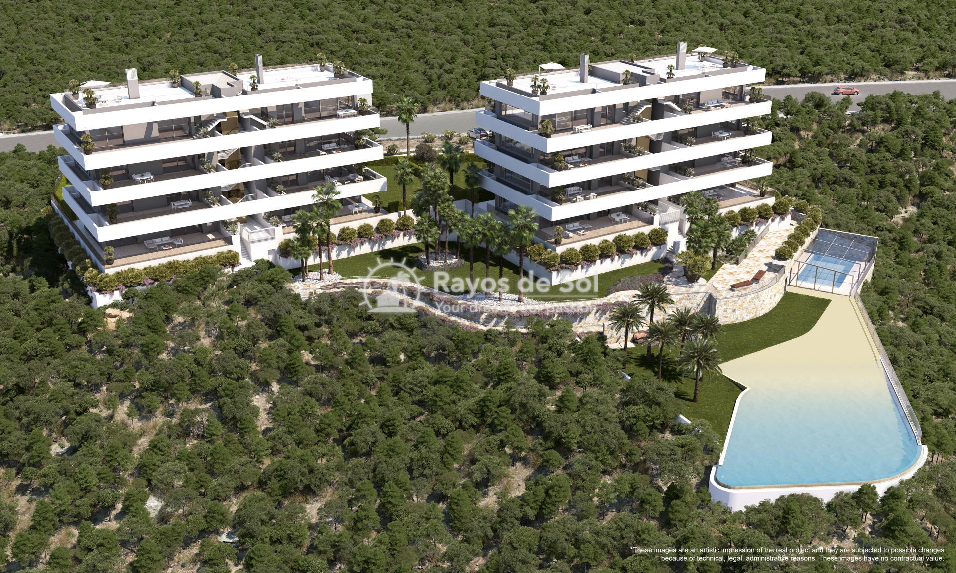 Apartment  in Las Colinas, Orihuela Costa, Costa Blanca (madronoap-gf-3d) - 1