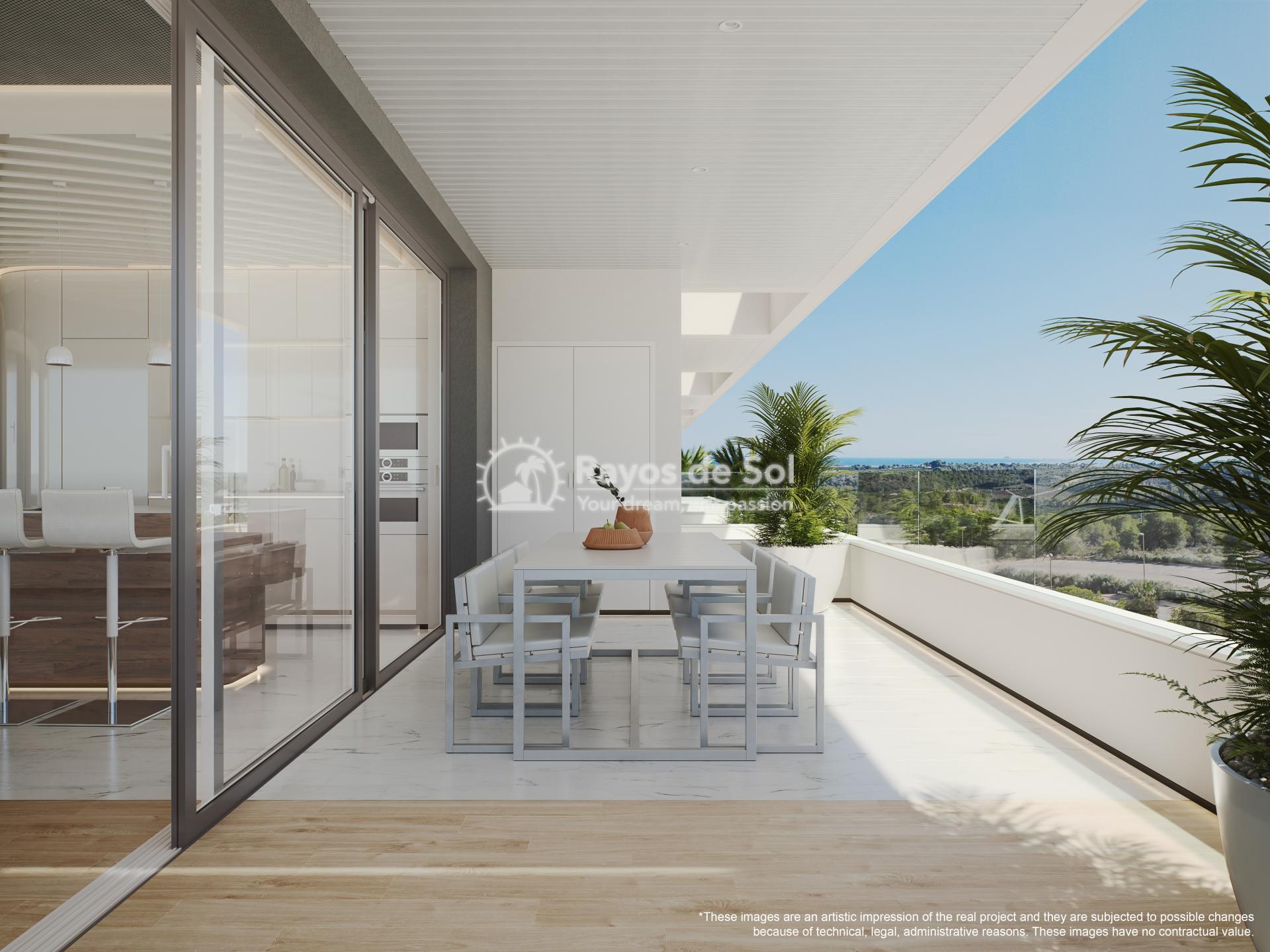 Penthouse  in Las Colinas, Orihuela Costa, Costa Blanca (madronoap-ph-3d) - 23