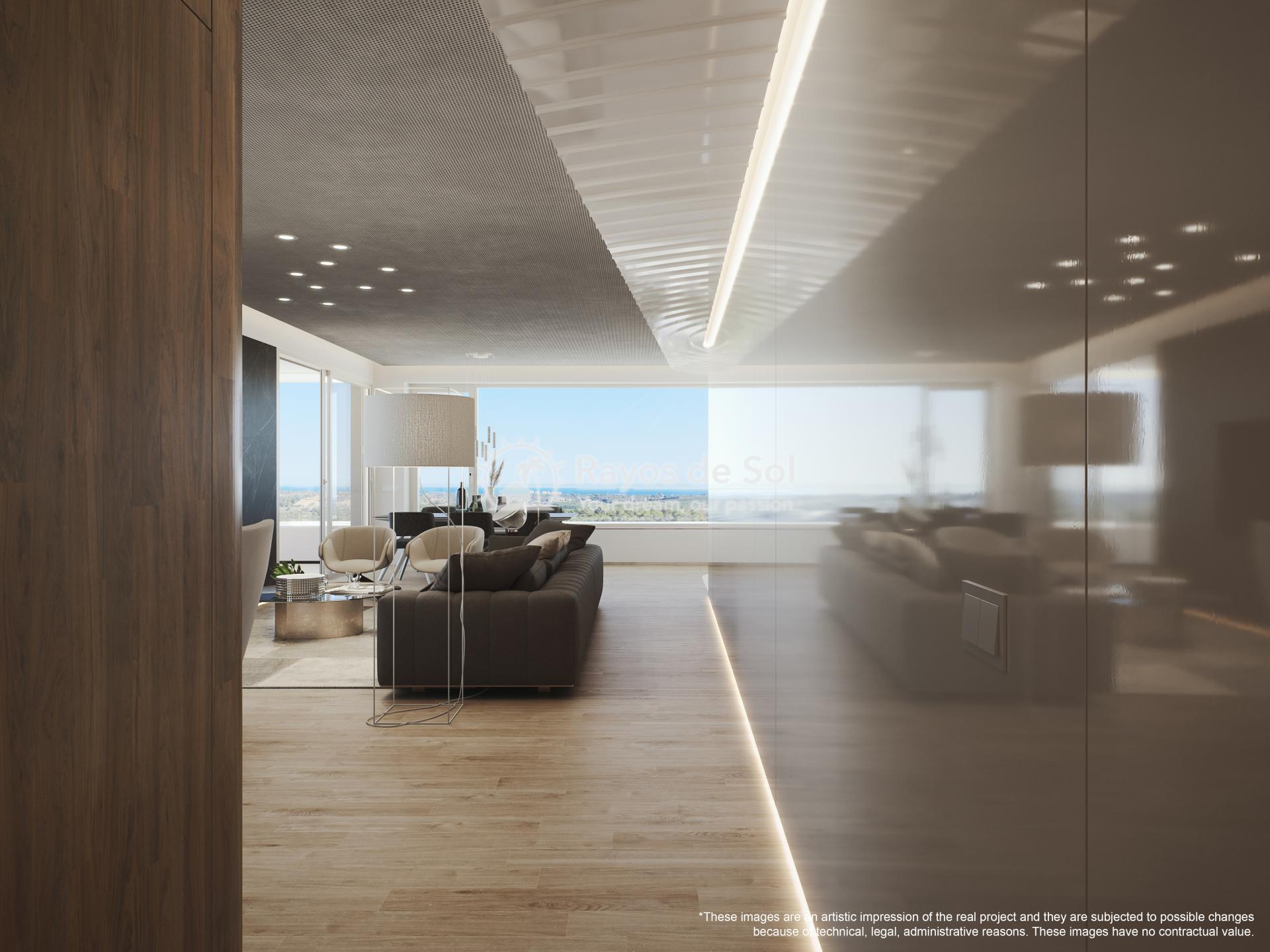 Penthouse  in Las Colinas, Orihuela Costa, Costa Blanca (madronoap-ph-3d) - 8