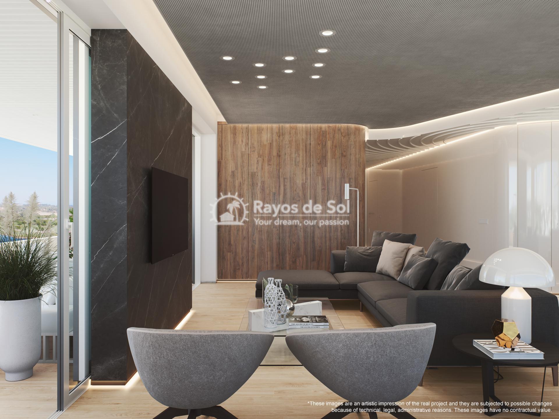 Penthouse  in Las Colinas, Orihuela Costa, Costa Blanca (madronoap-ph-3d) - 10