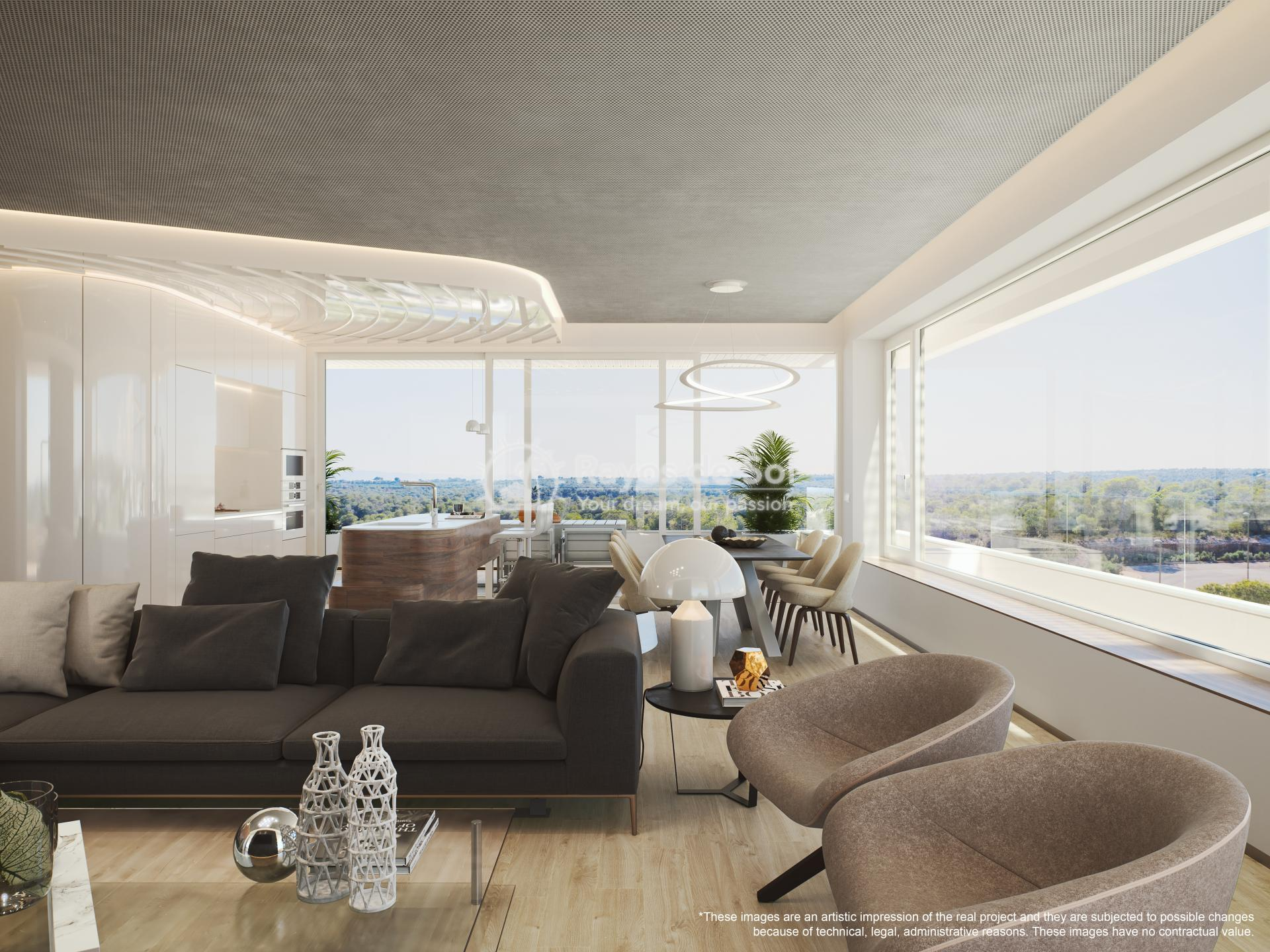 Penthouse  in Las Colinas, Orihuela Costa, Costa Blanca (madronoap-ph-3d) - 13