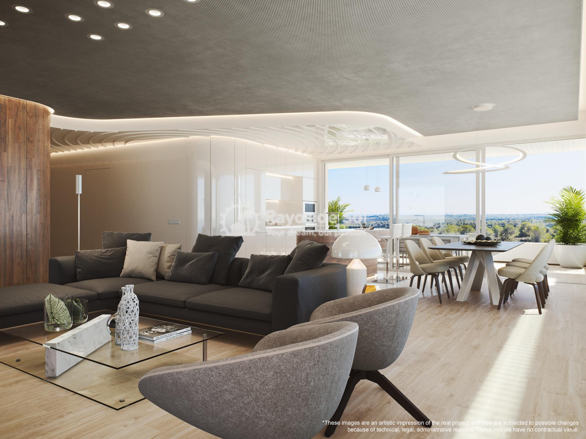 Penthouse  in Las Colinas, Orihuela Costa, Costa Blanca (madronoap-ph-3d) - 6