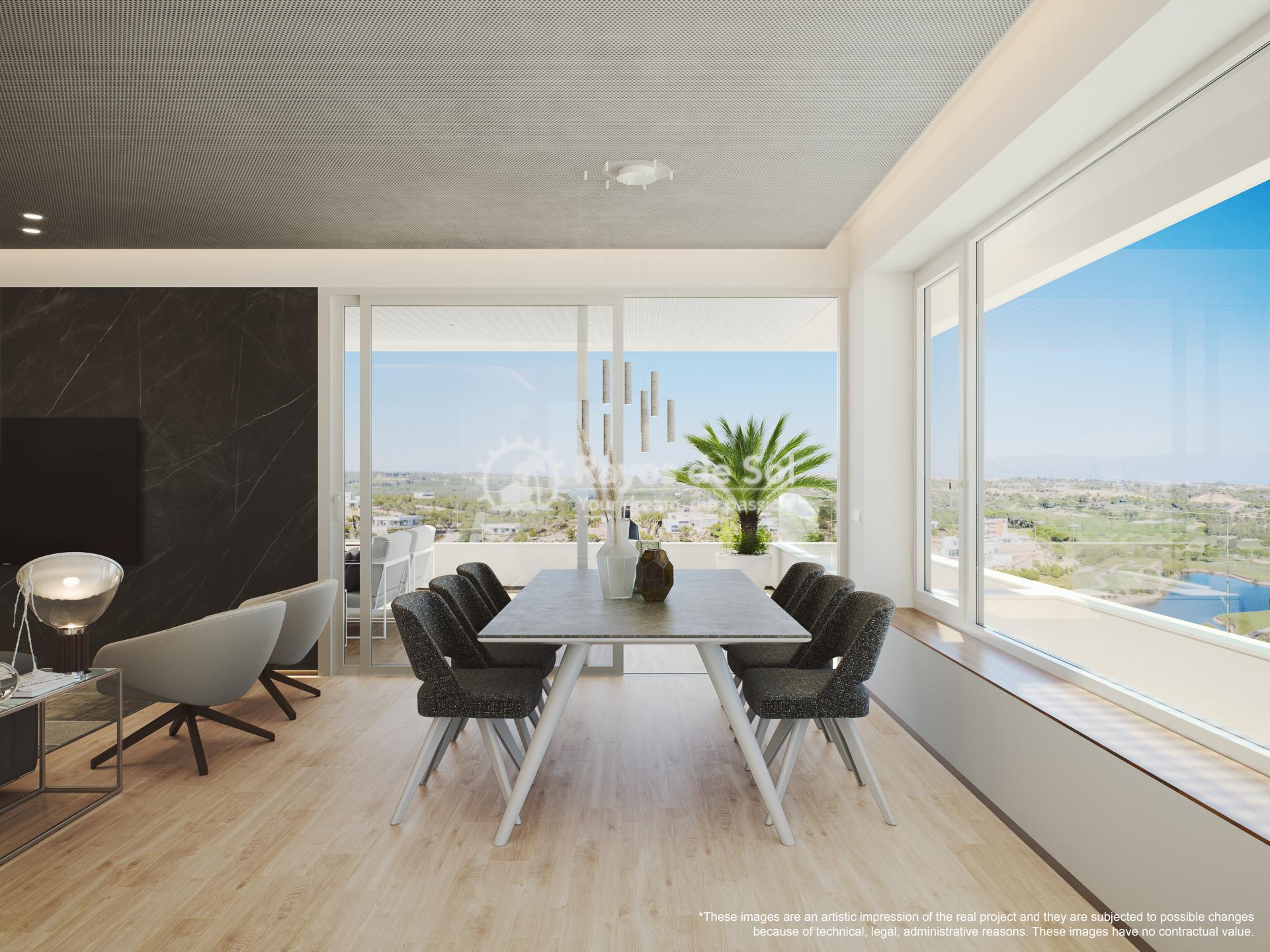 Penthouse  in Las Colinas, Orihuela Costa, Costa Blanca (madronoap-ph-3d) - 14