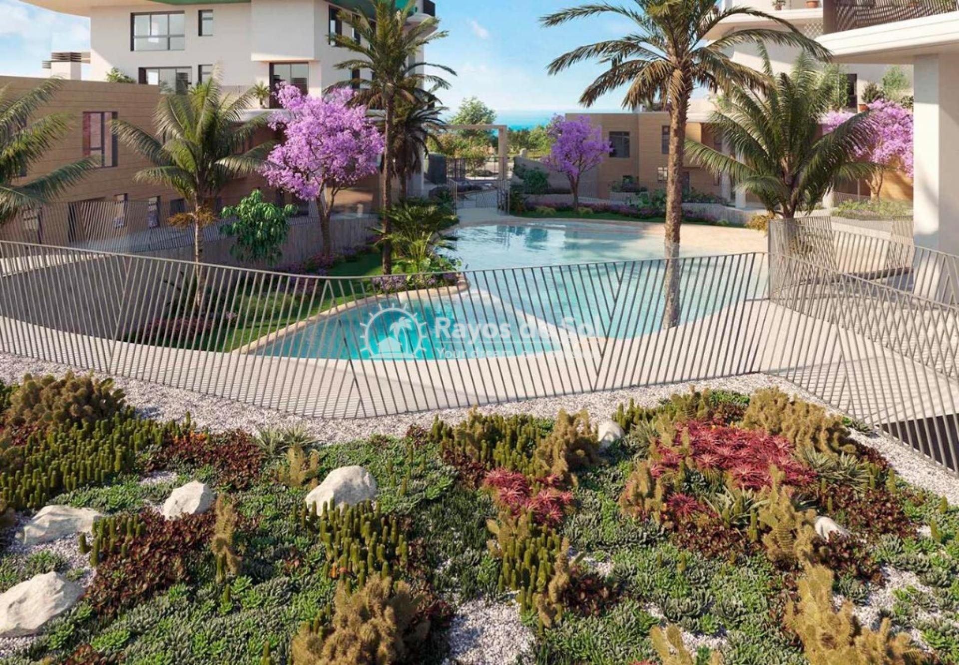 Townhouse  in Villajoyosa, Costa Blanca (aster-dpx-3d) - 14