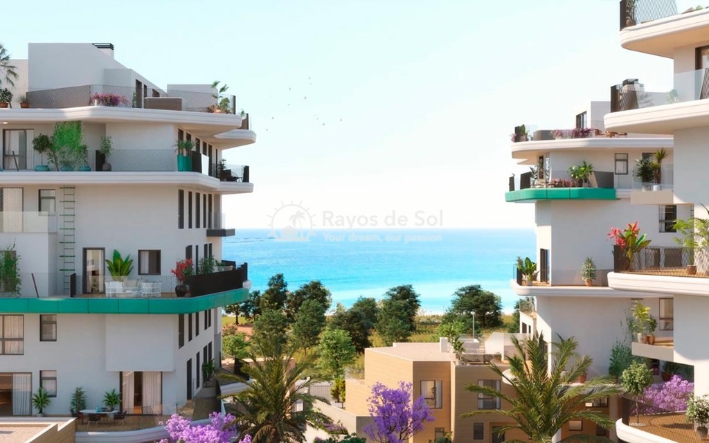 Townhouse  in Villajoyosa, Costa Blanca (aster-dpx-3d) - 1