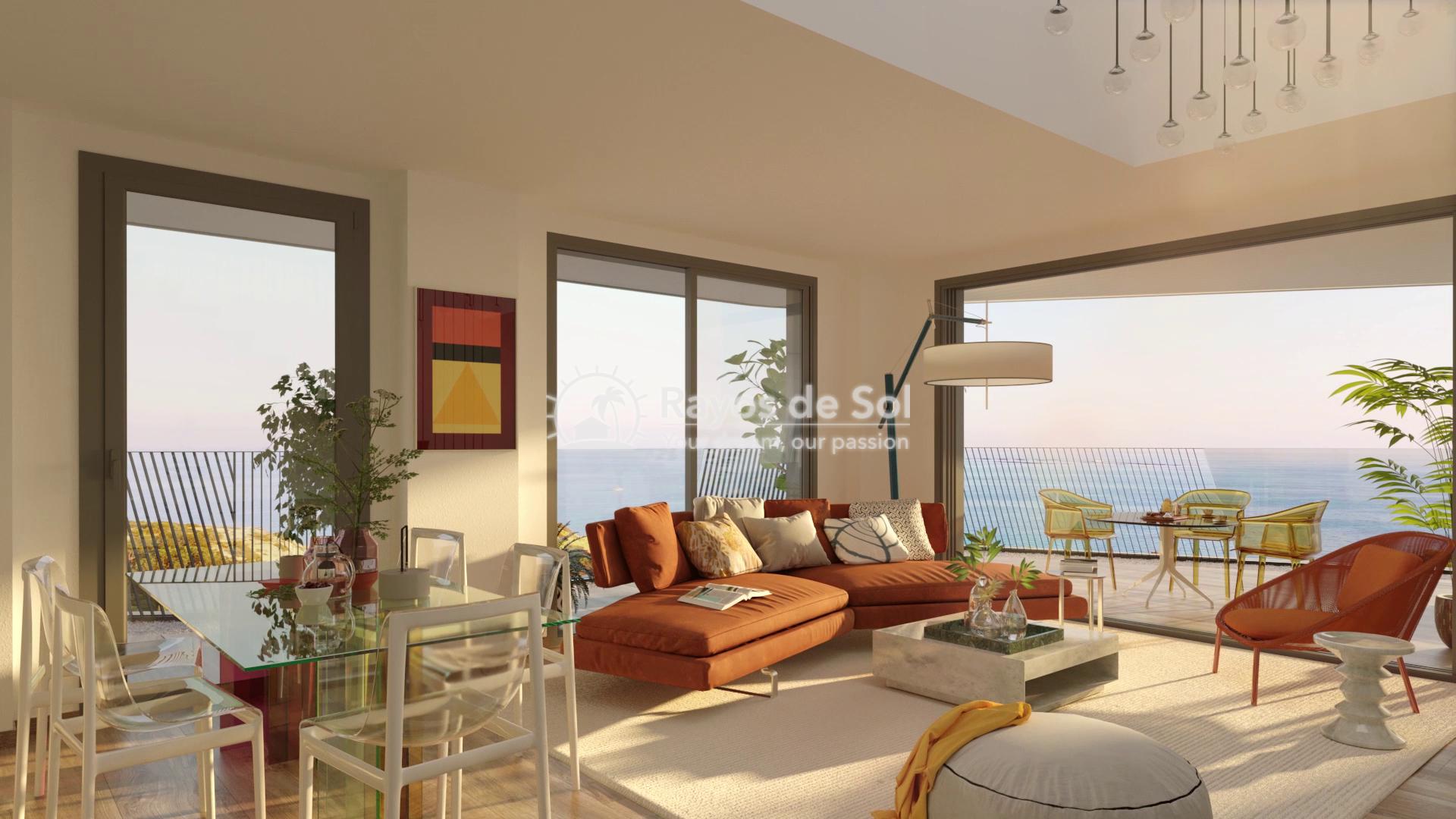 Penthouse  in Villajoyosa, Costa Blanca (aster-ph-3d) - 2