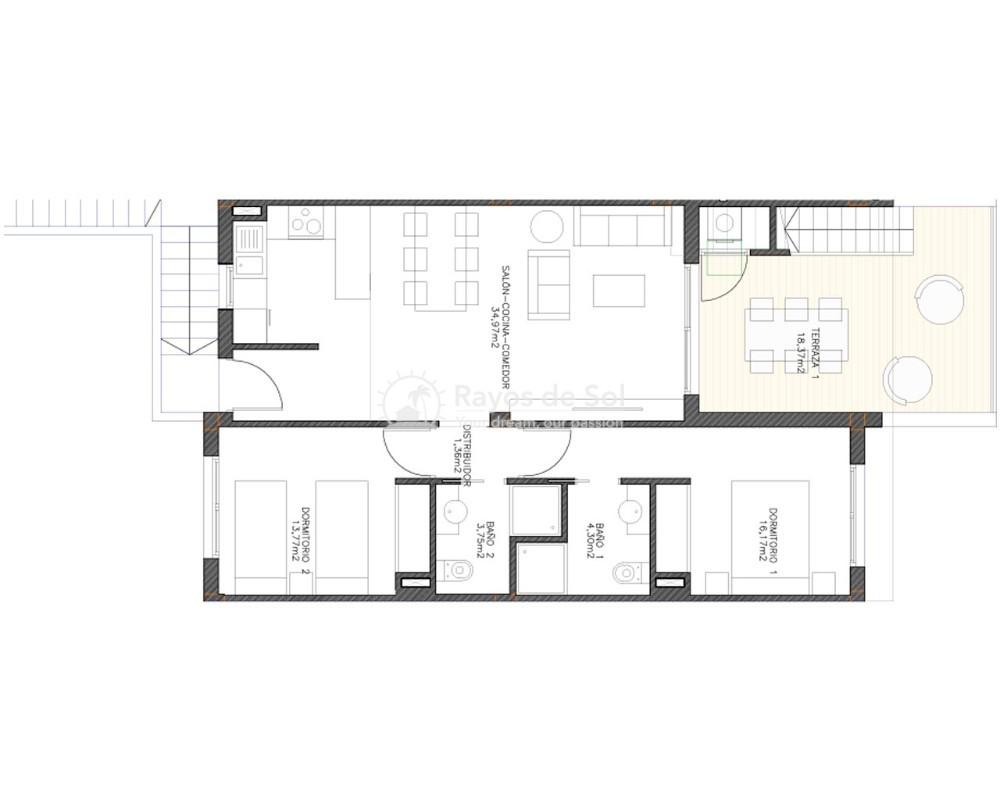 Penthouse  in Finestrat, Costa Blanca (sunnyh-tfb) - 17