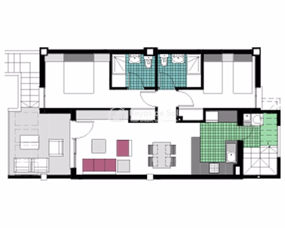 Penthouse  in Mil Palmeras, Costa Blanca (garda-tfb) - 18