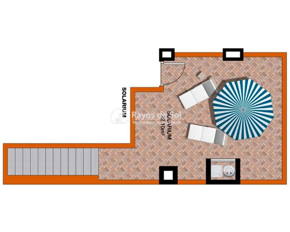 Townhouse  in Torre de la Horadada, Pilar de la Horadada, Costa Blanca (portom6-3d) - 7