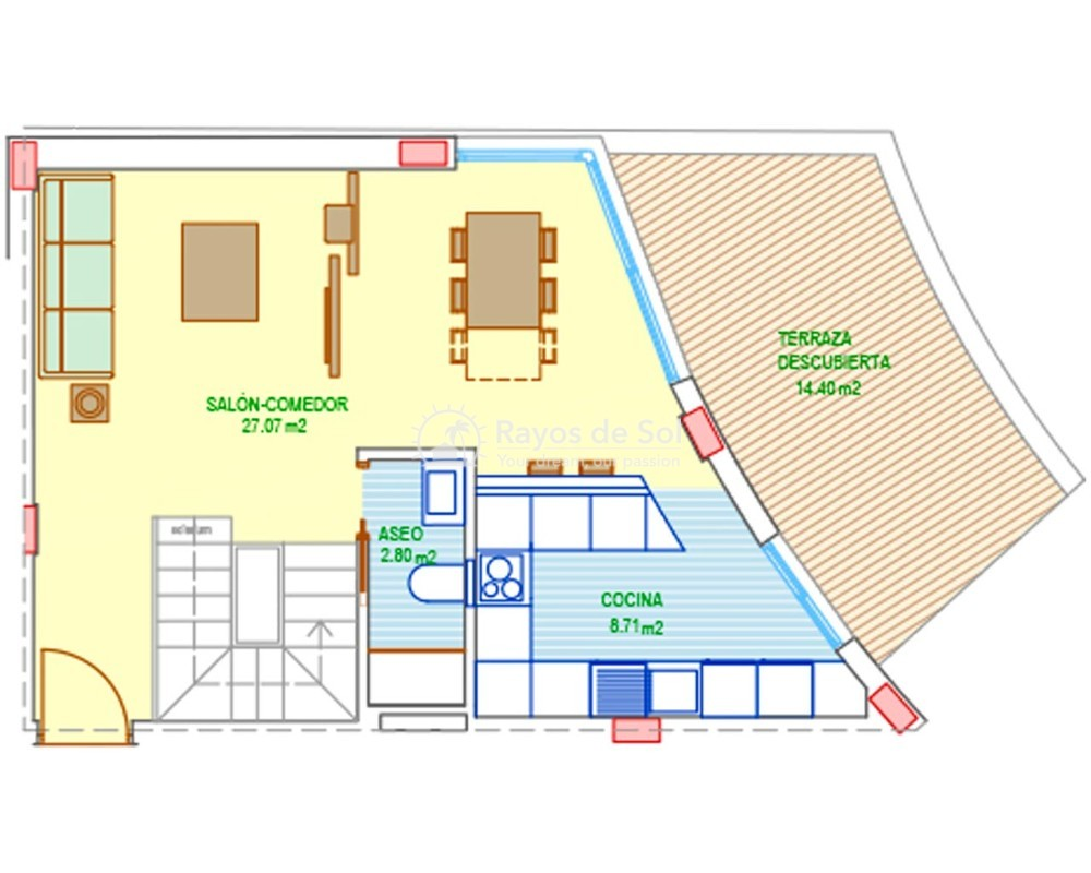 Apartment  in Santa Pola, Costa Blanca (aura-apt-3d) - 15