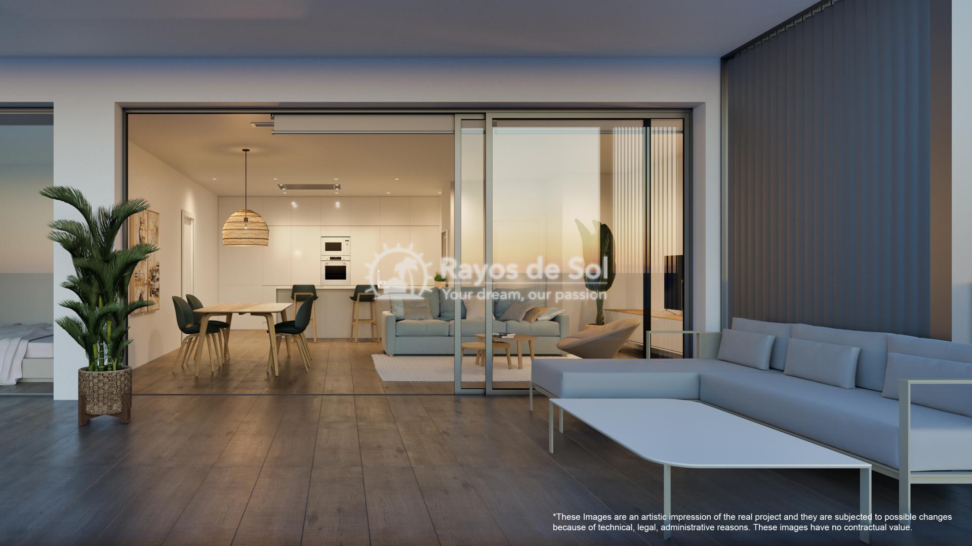 Apartment  in Las Colinas, Orihuela Costa, Costa Blanca (nisperoap-3d) - 9