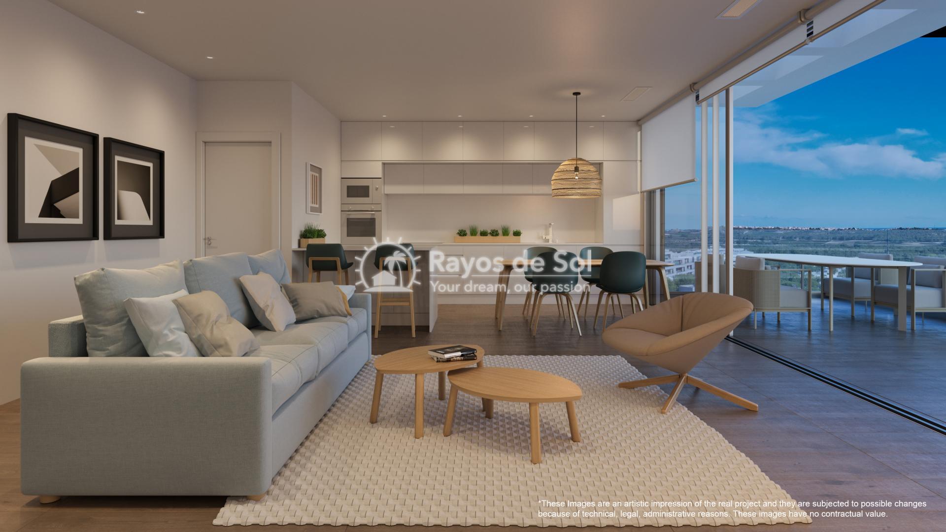 Apartment  in Las Colinas, Orihuela Costa, Costa Blanca (nisperoap-3d) - 5