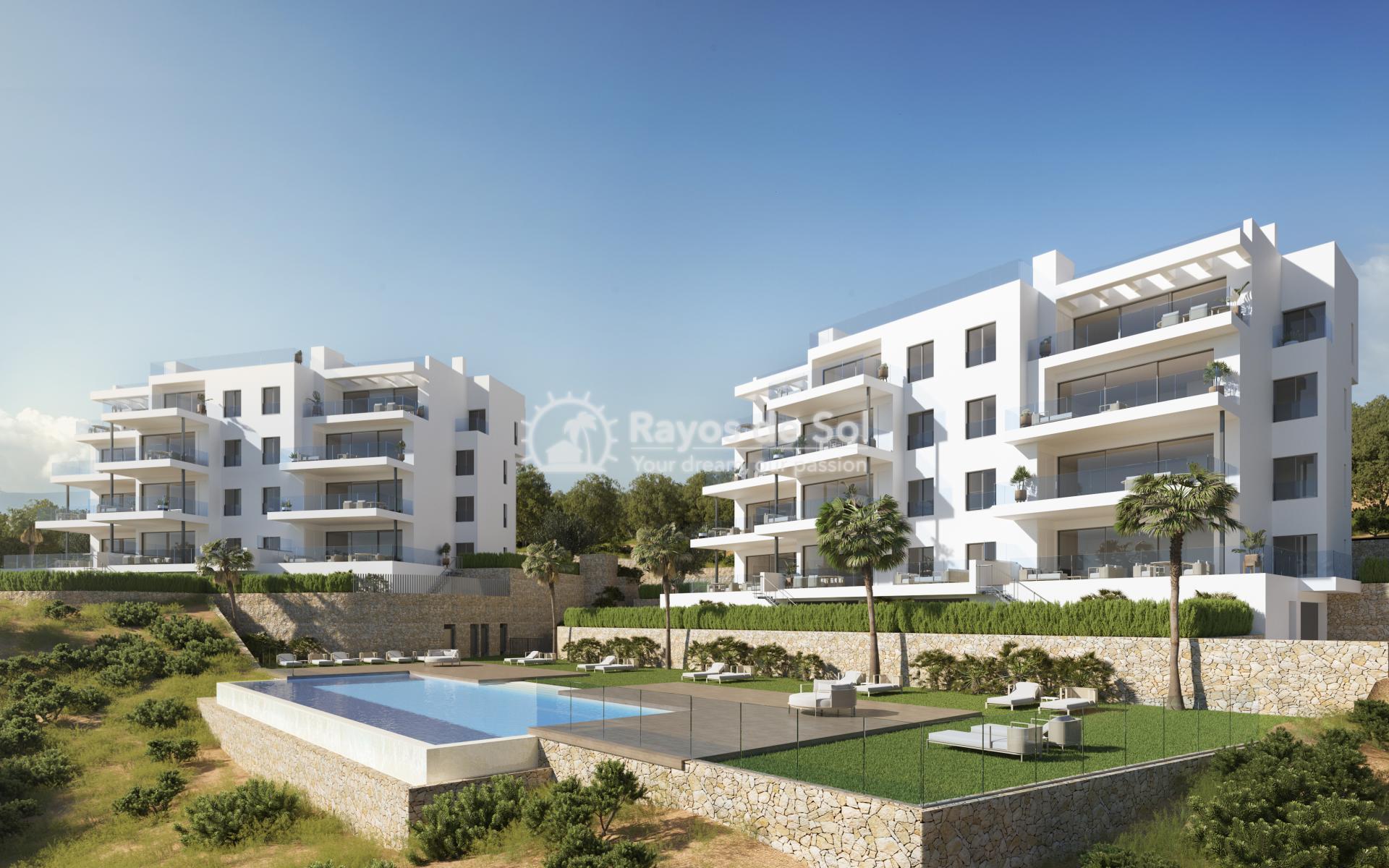Apartment  in Las Colinas, Orihuela Costa, Costa Blanca (nisperoap-3d) - 1