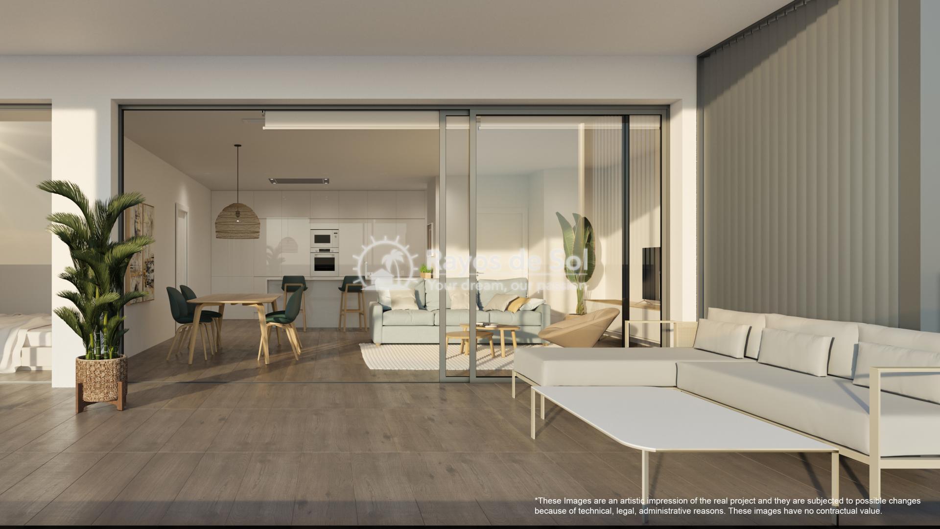 Apartment  in Las Colinas, Orihuela Costa, Costa Blanca (nisperoap-gf-3d) - 8