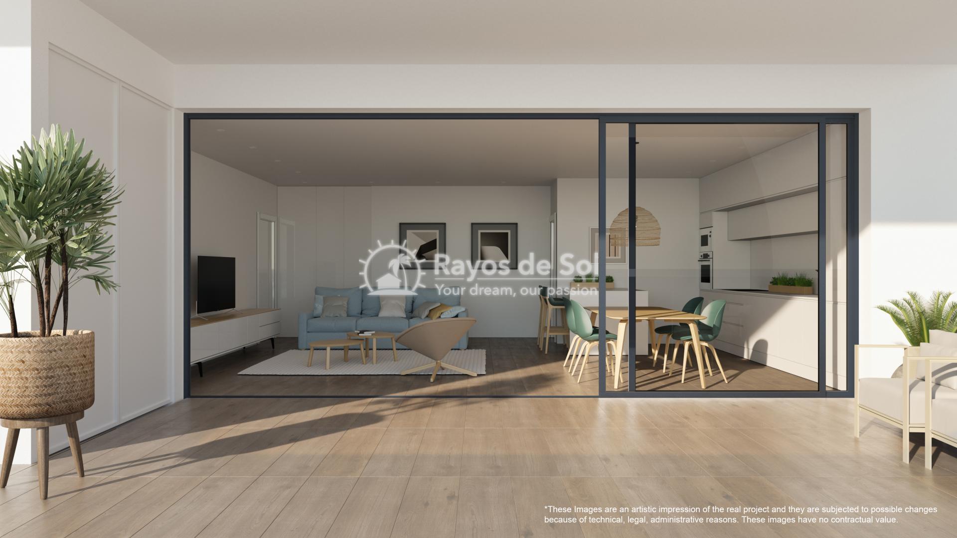 Apartment  in Las Colinas, Orihuela Costa, Costa Blanca (nisperoap-gf-2d) - 2
