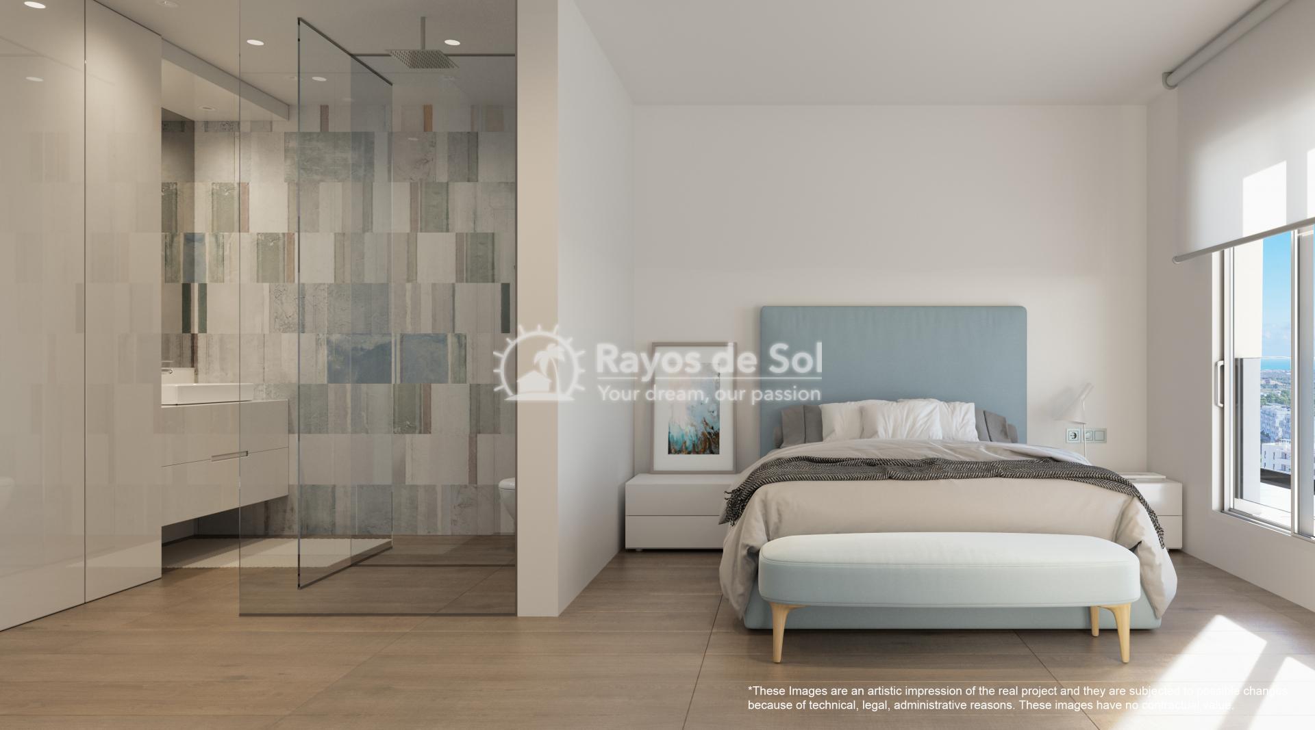Penthouse  in Las Colinas, Orihuela Costa, Costa Blanca (nisperoap-ph-3d) - 10