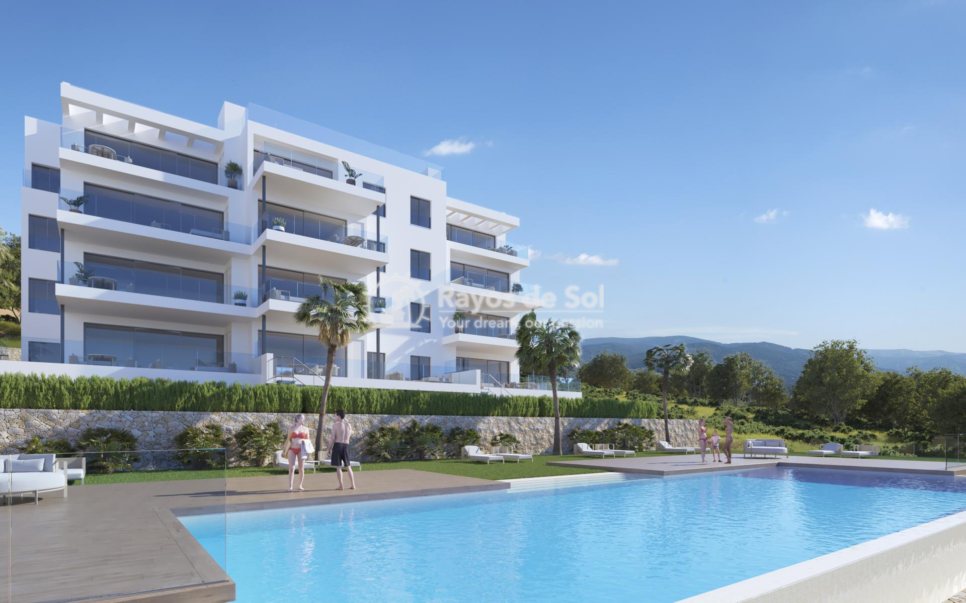 Penthouse  in Las Colinas, Orihuela Costa, Costa Blanca (nisperoap-ph-3d) - 1
