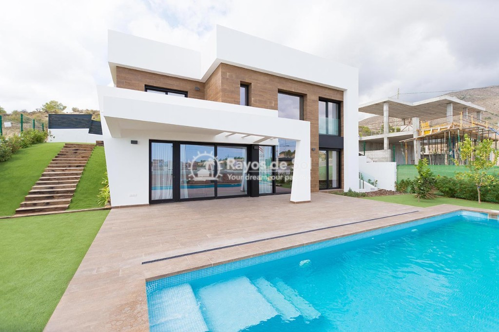 Villa  in Finestrat, Costa Blanca (cg-clife-view) - 1