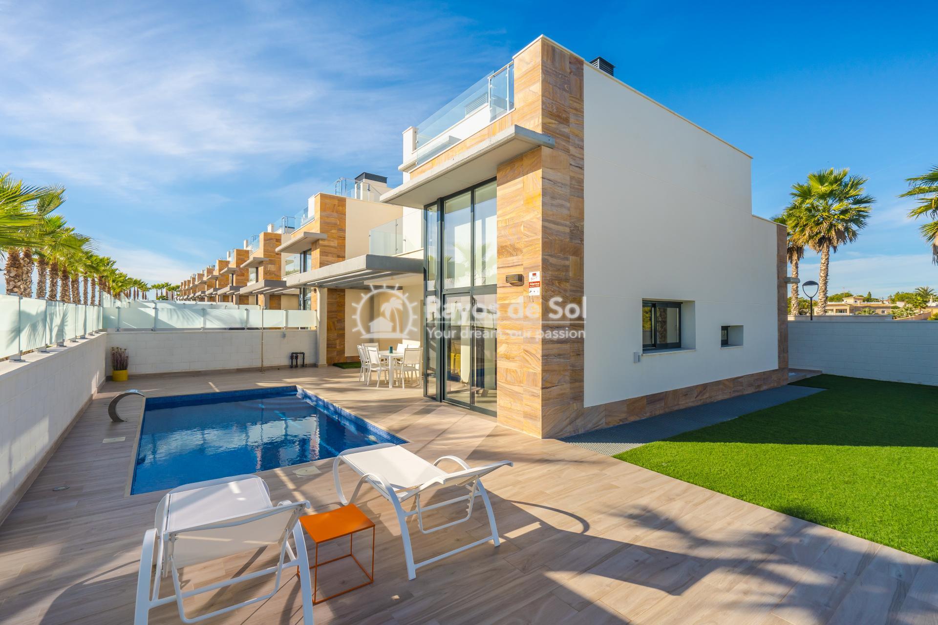 Villa  in Cabo Roig, Orihuela Costa, Costa Blanca (Palm Beach 1 3-3) - 1