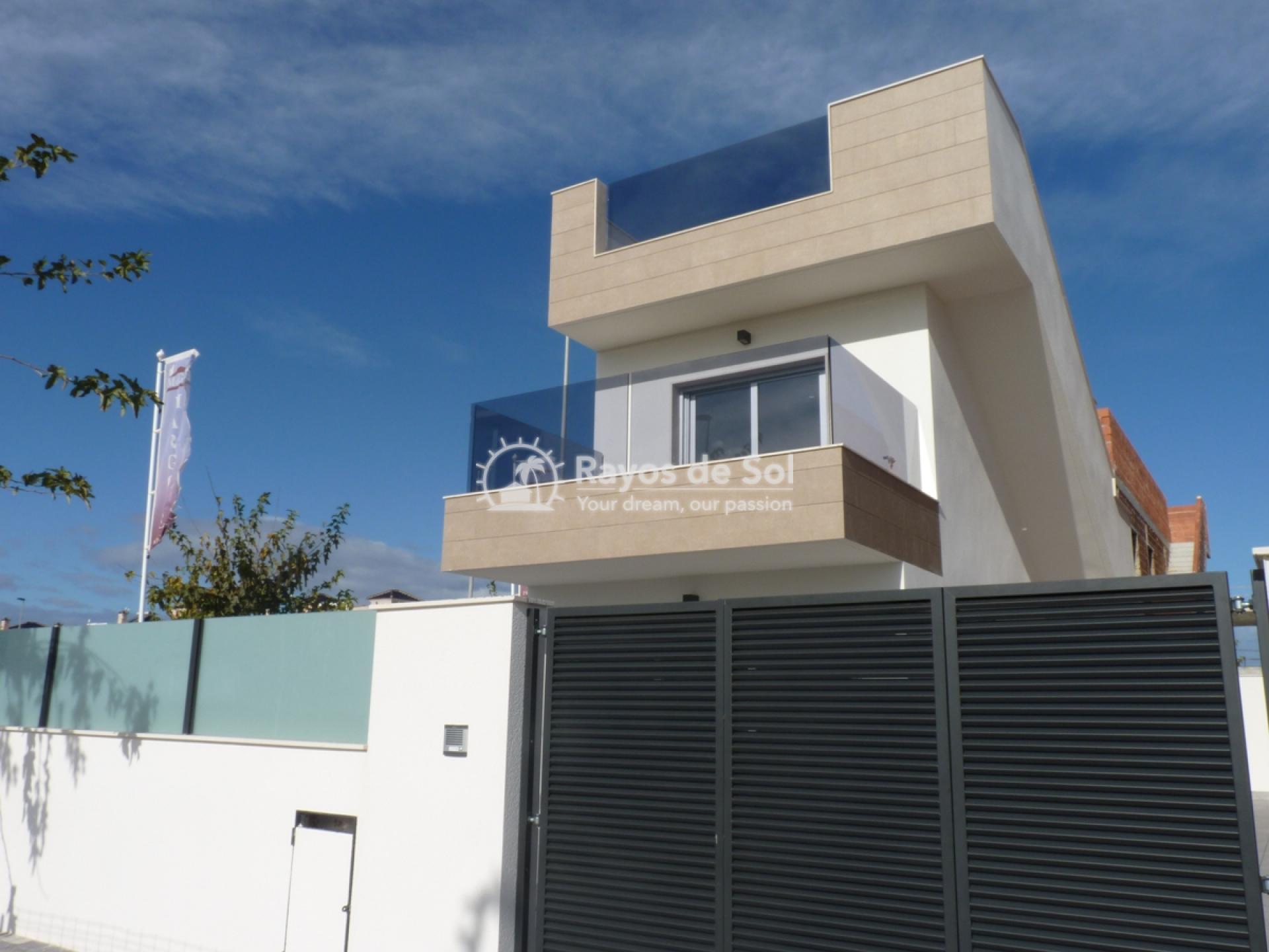 Modern villa  in Torre de la Horadada, Pilar de la Horadada, Costa Blanca (Torre Margrove villas) - 1