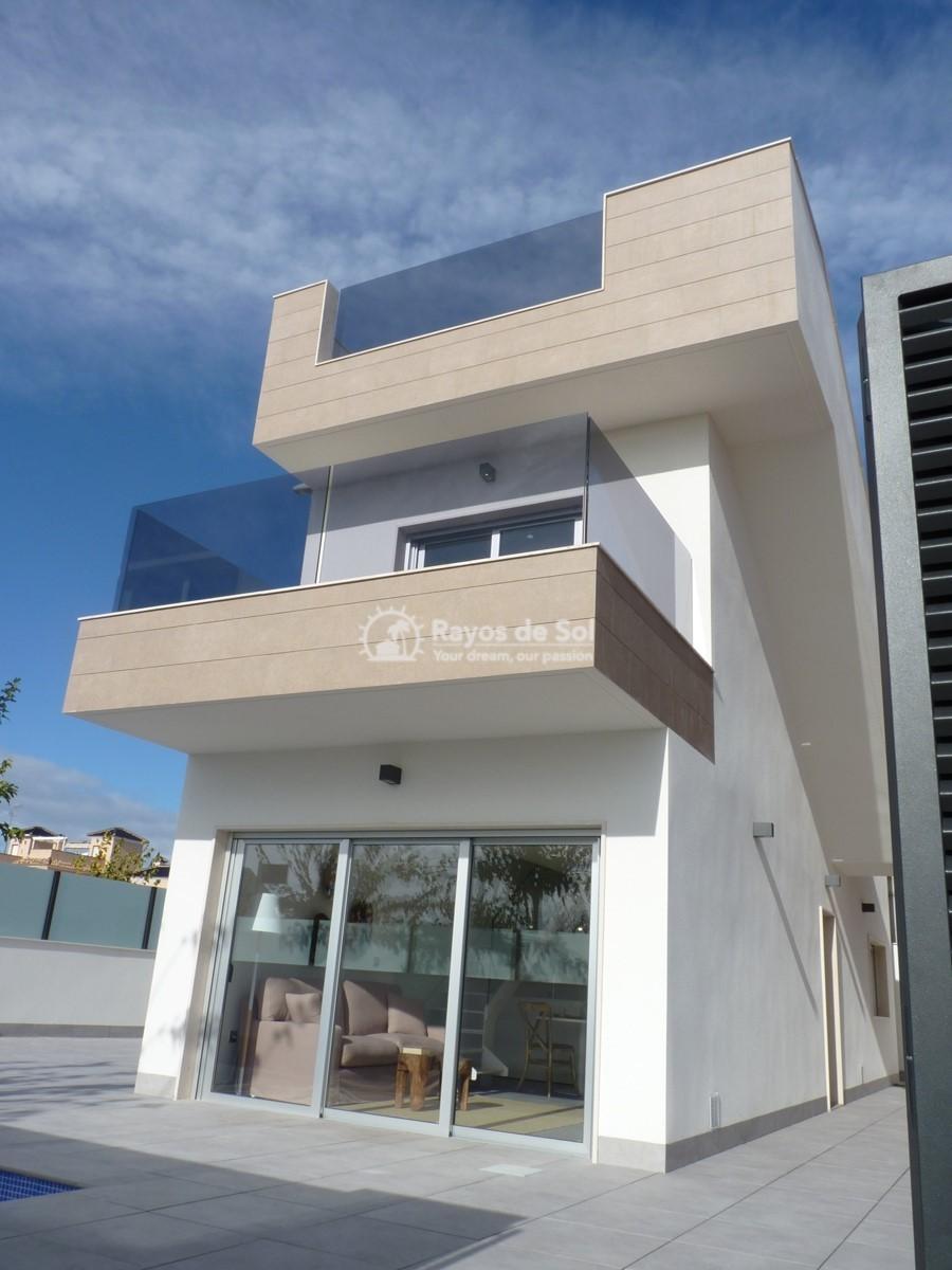 Modern villa  in Torre de la Horadada, Pilar de la Horadada, Costa Blanca (Torre Margrove villas) - 4
