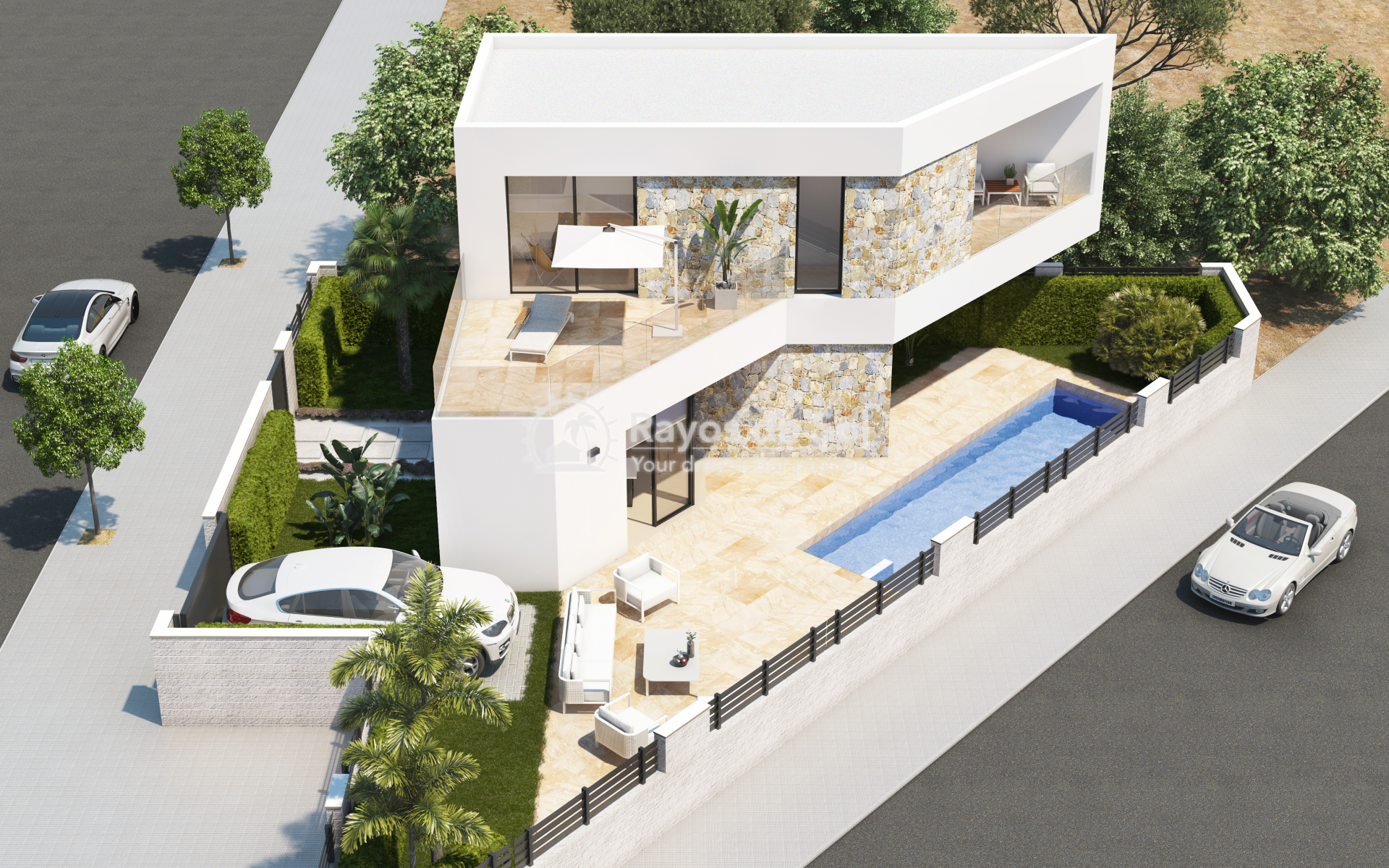 Detached villa  in Benijofar, Costa Blanca (Luliva) - 11