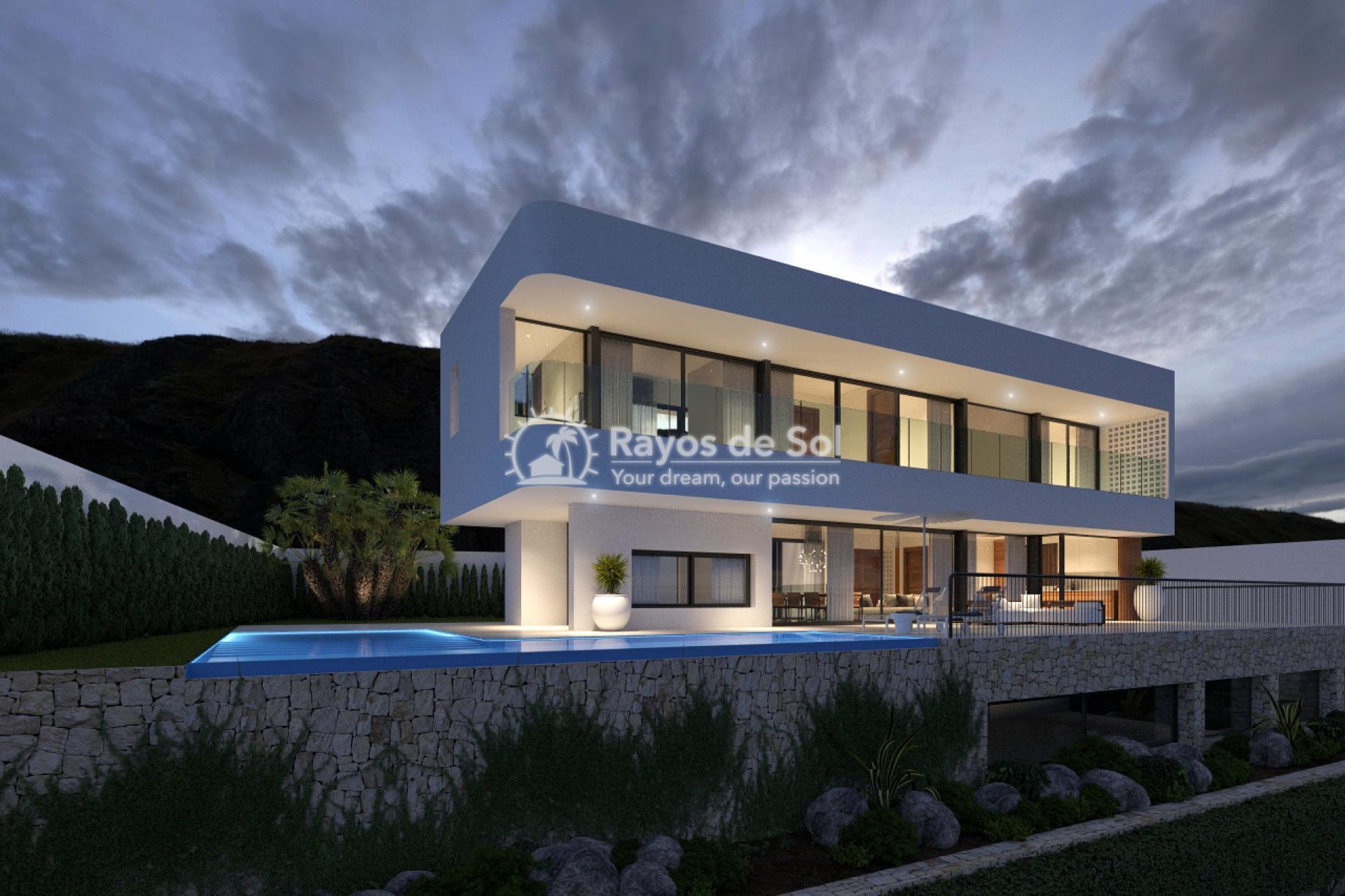 Stunning villa  in Finestrat, Costa Blanca (Miramar Alpha) - 1