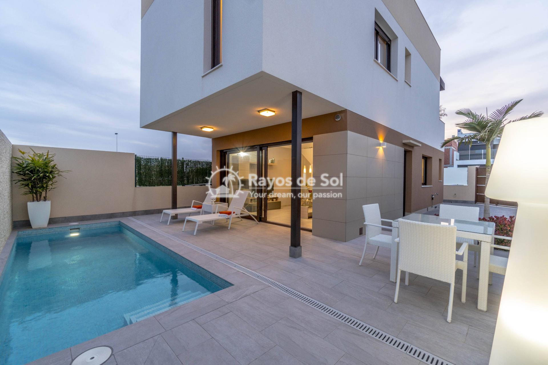 Detached villa  in San Pedro del Pinatar, Costa Cálida (Abedul villas) - 1