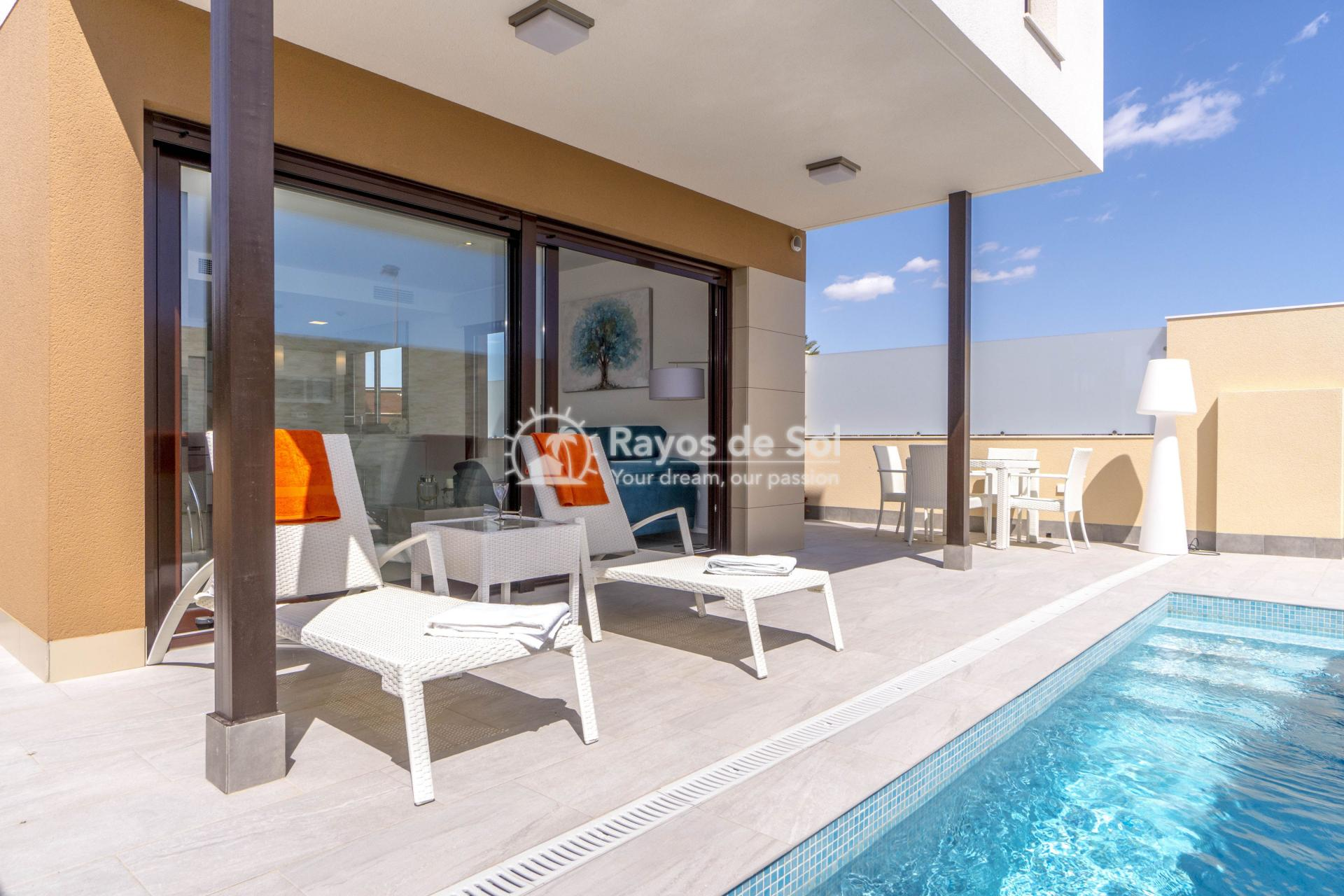 Detached villa  in San Pedro del Pinatar, Costa Cálida (Abedul villas) - 18