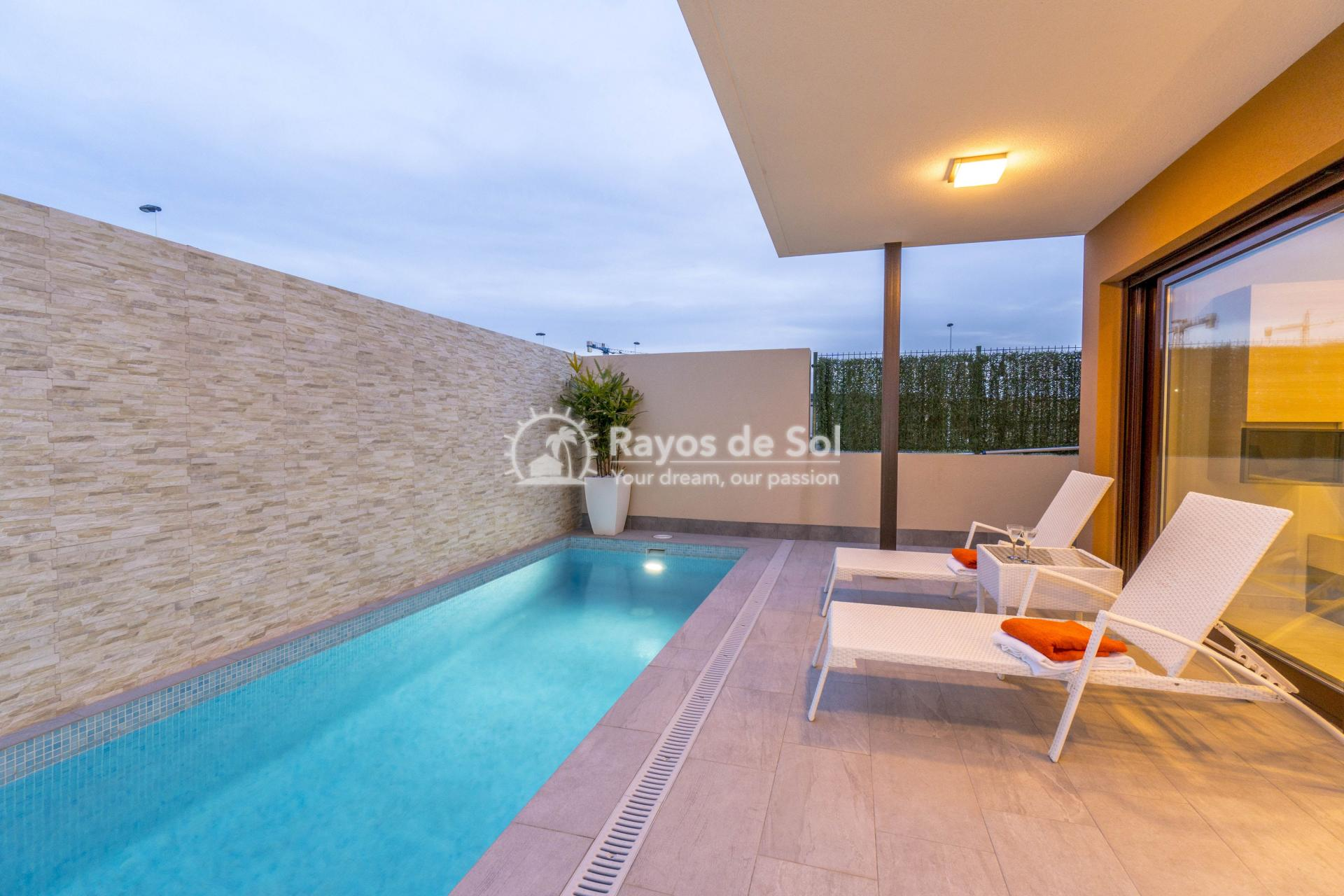 Detached villa  in San Pedro del Pinatar, Costa Cálida (Abedul villas) - 22