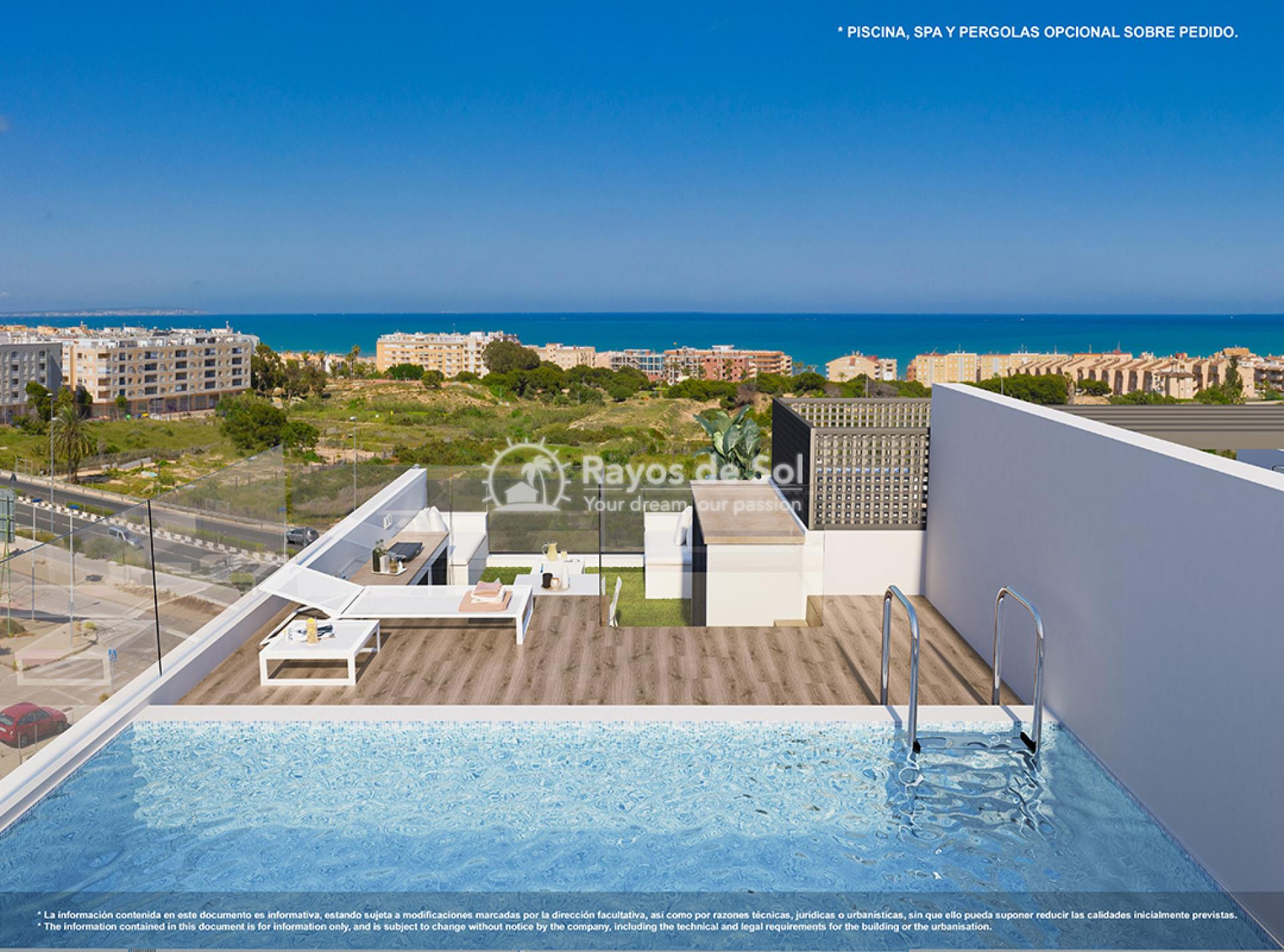 Penthouse  in Guardamar del Segura, Costa Blanca (Royalp sea PH) - 9