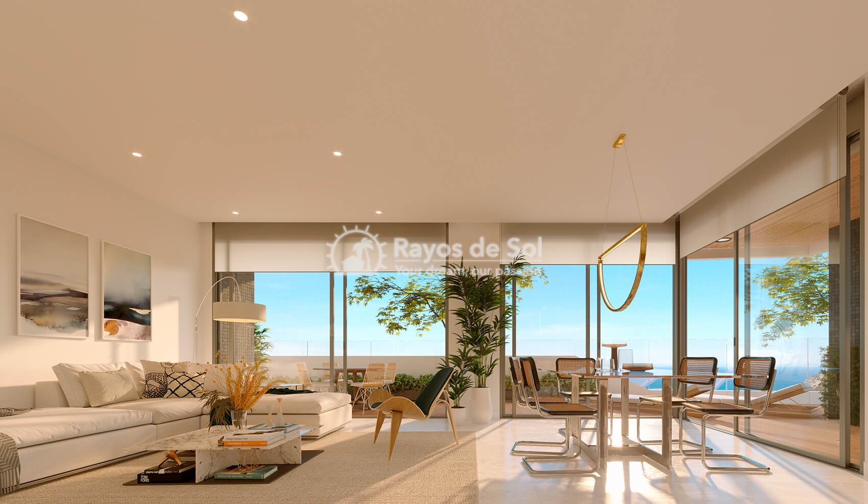 Penthouse with views  in Benidorm, Costa Blanca (Benidormb 33e) - 2